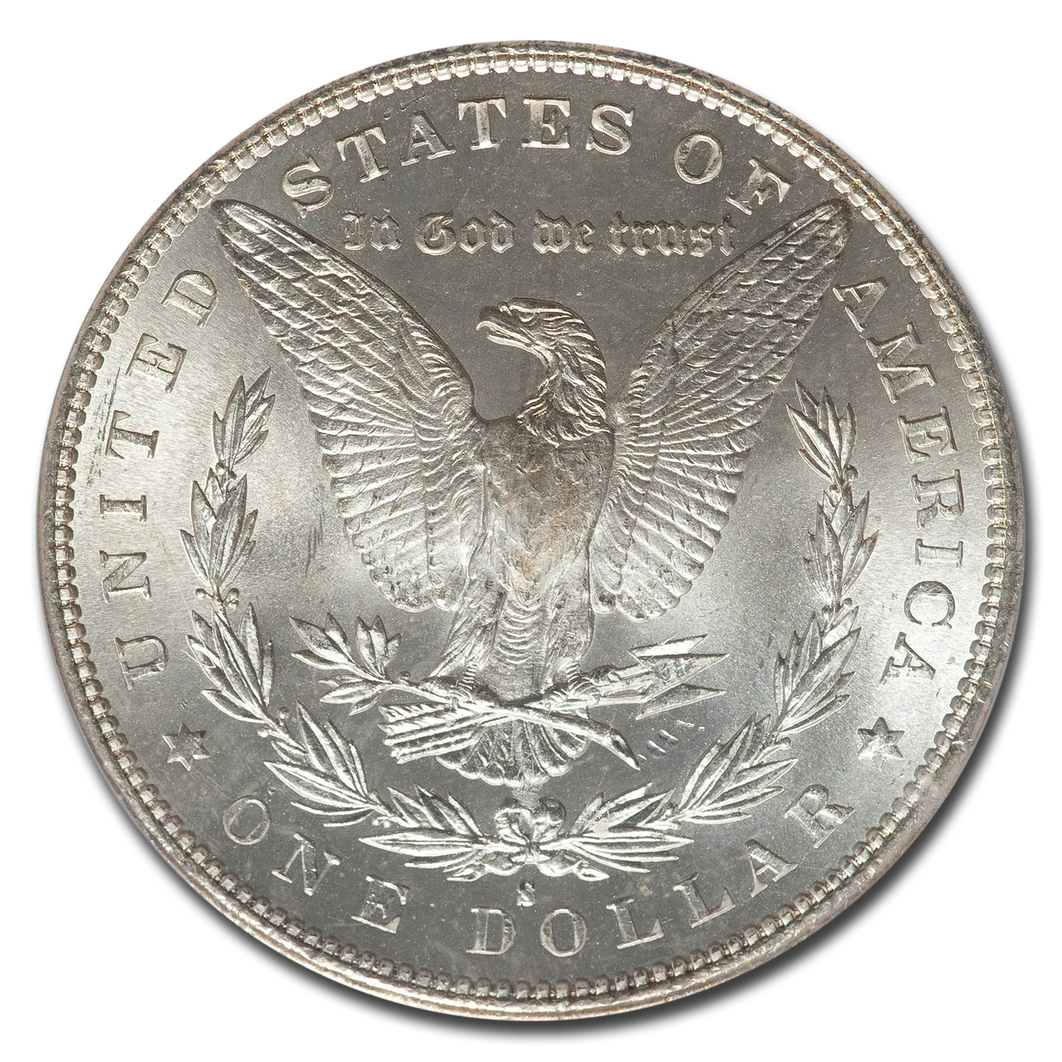 1881-S Morgan Dollar MS-67 PCGS (CAC)