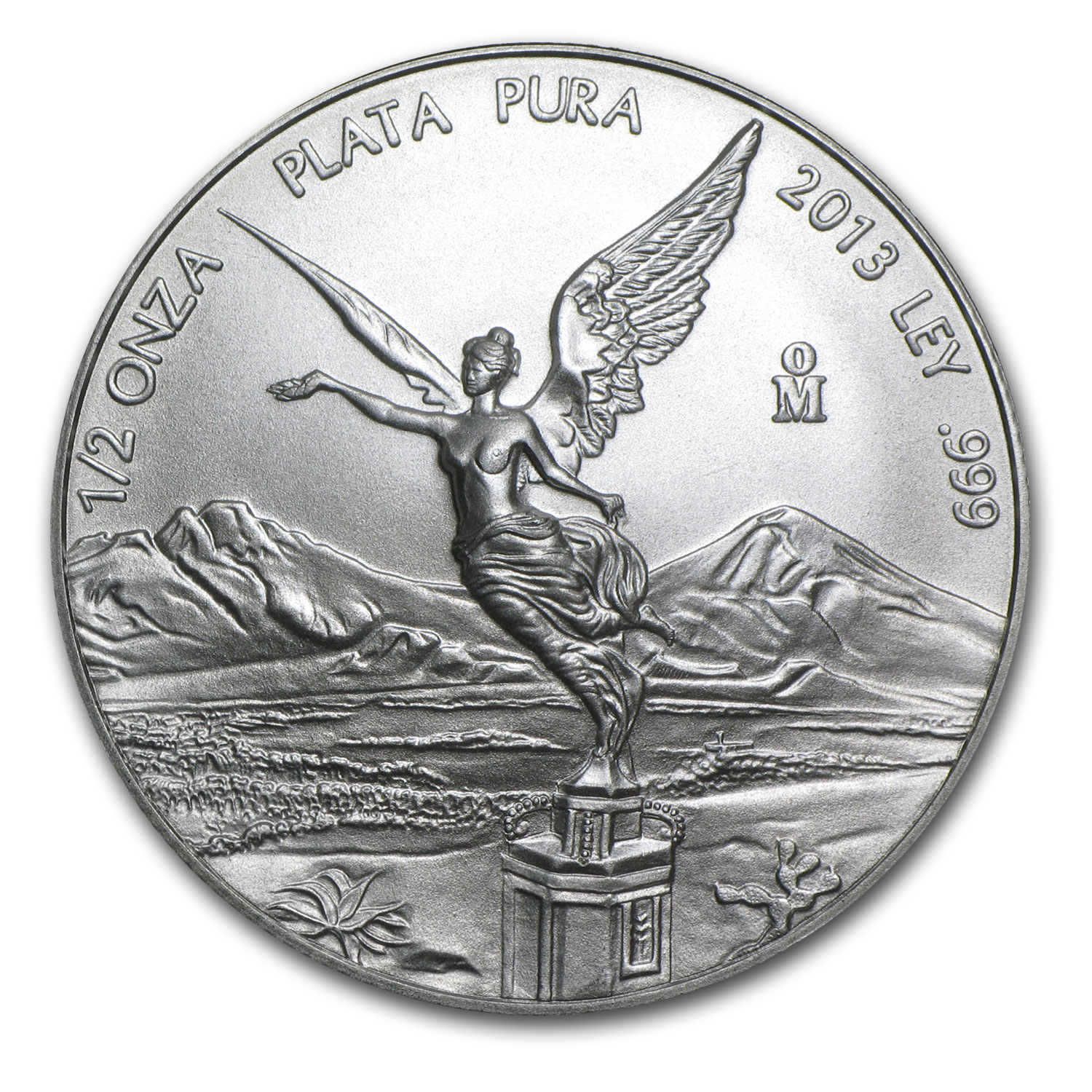 2013 1/2 oz Silver Libertad (Brilliant Uncirculated)