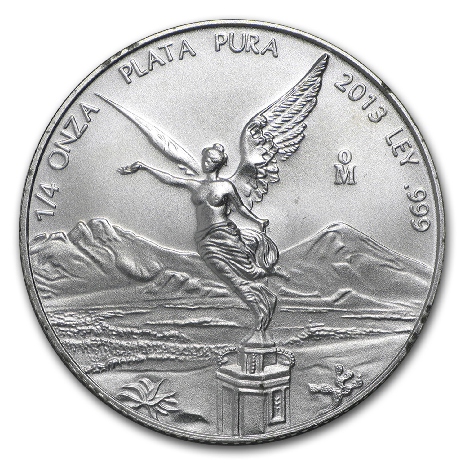 2013 1/4 oz Silver Libertad (Brilliant Uncirculated)