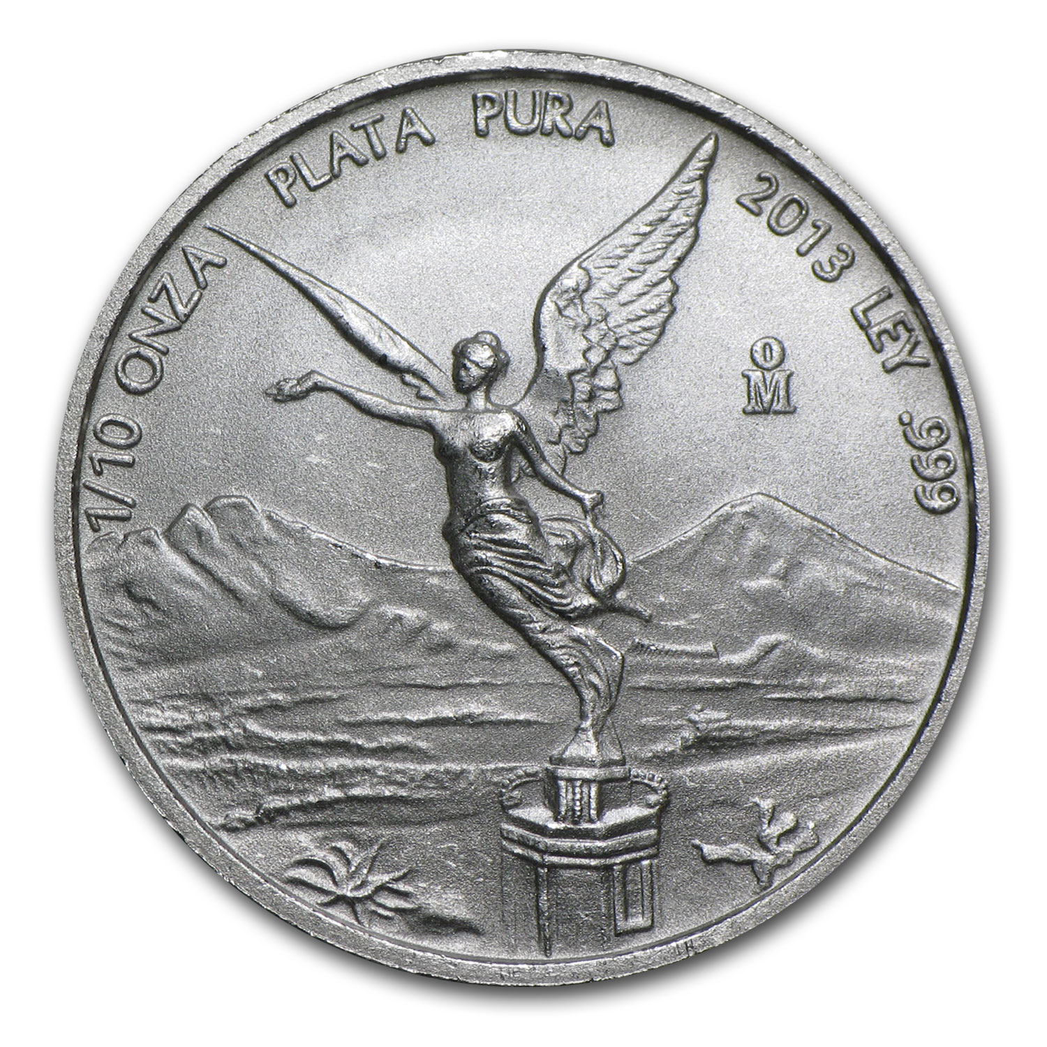 2013 1/10 oz Silver Mexican Libertad (Brilliant Uncirculated)