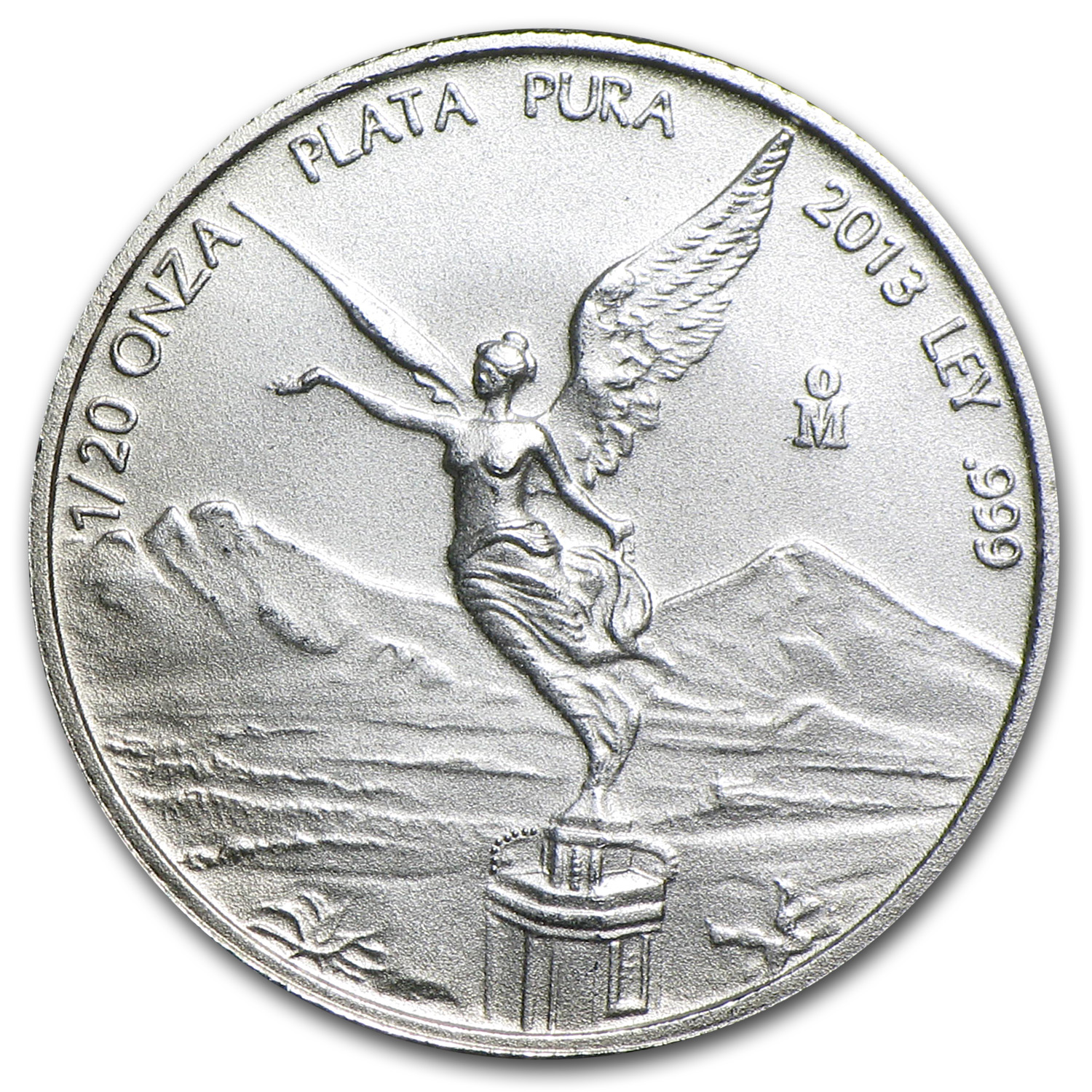 2013 1/20 oz Silver Libertad (Brilliant Uncirculated)
