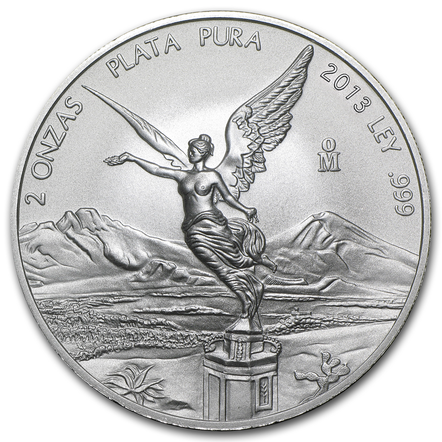 2013 2 oz Silver Mexican Libertad (Brilliant Uncirculated)