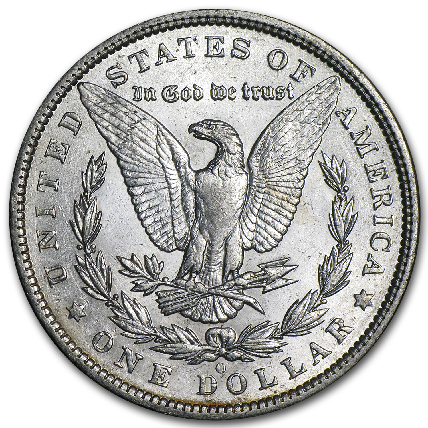 1894-O Morgan Dollar - Almost Uncirculated-58