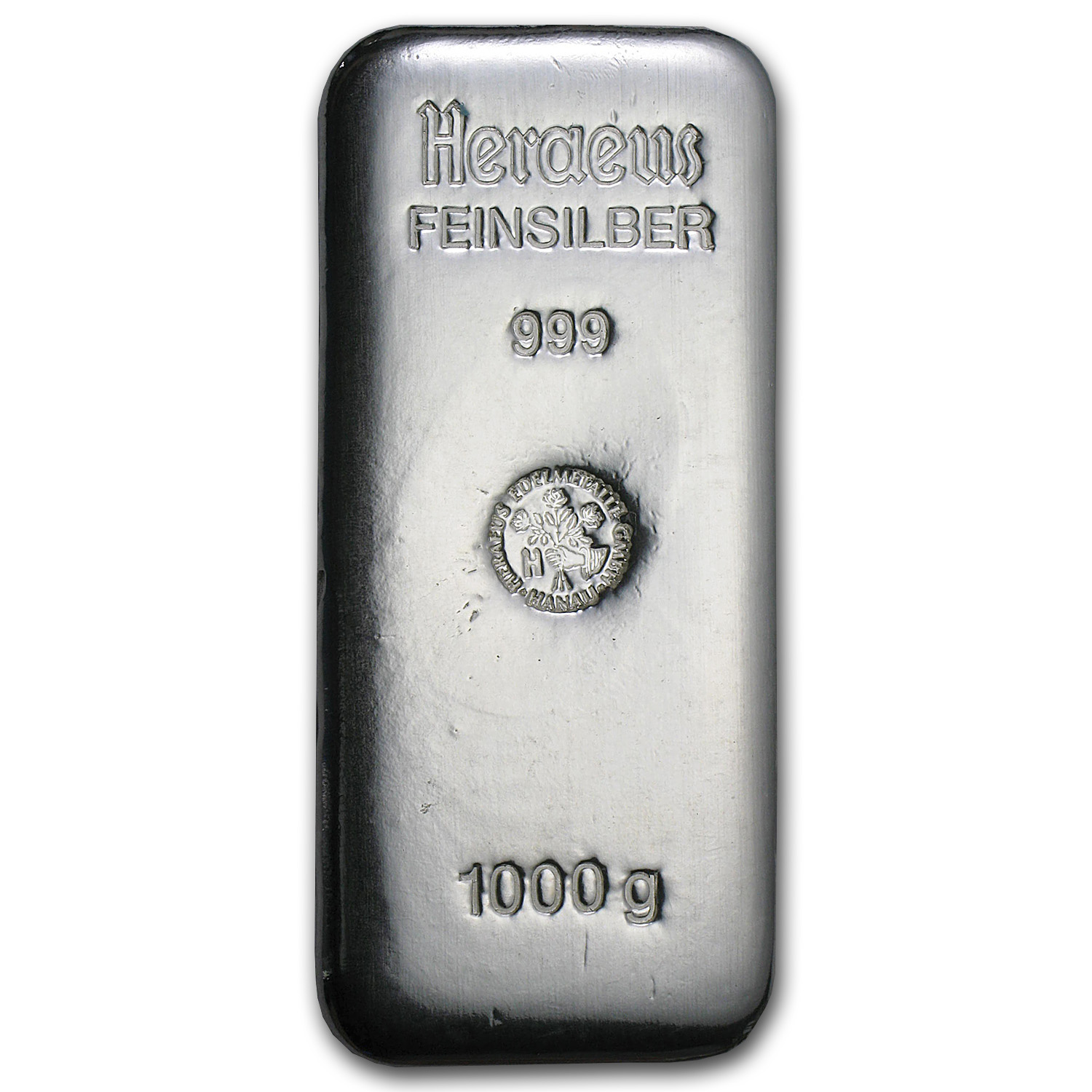 1 Kilo Silver Bars - Heraeus (Germany/1000 Gram)