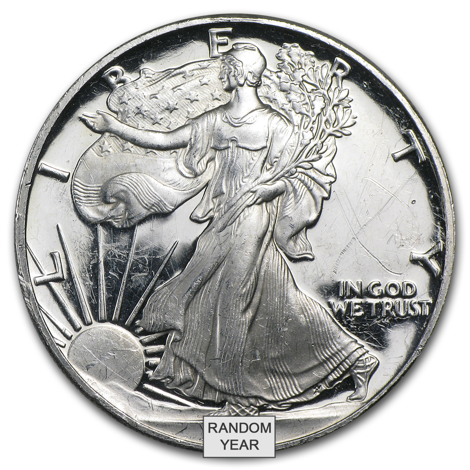 1 oz Proof Silver American Eagle (Capsule Only)