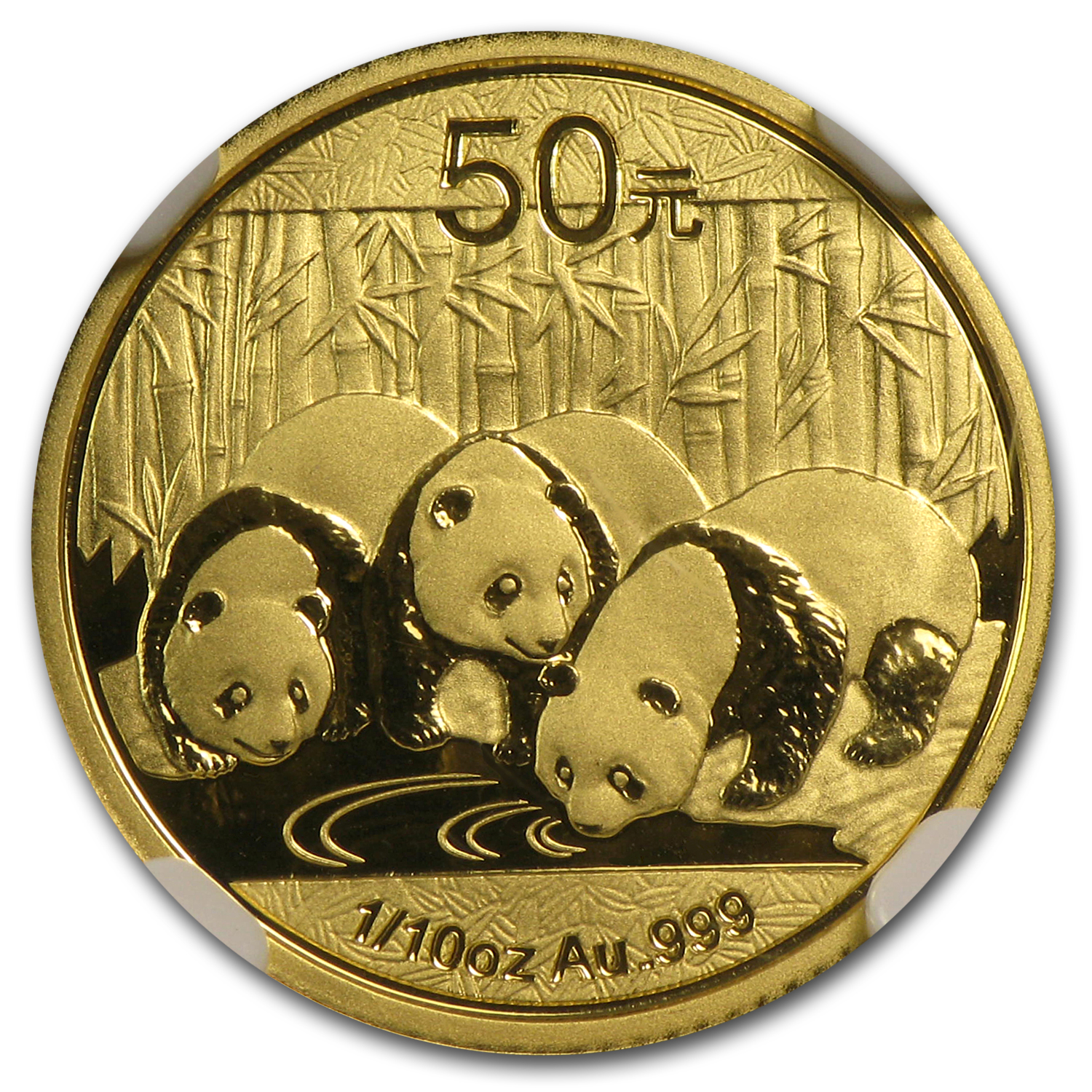 2013 (1/10 oz) Gold Chinese Panda - MS-70 NGC Early Releases
