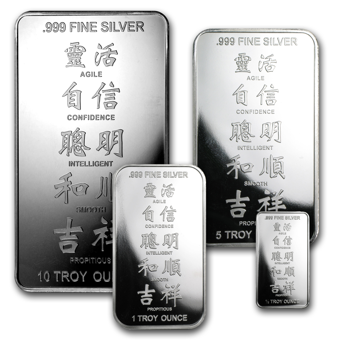 9-Piece APMEX - Year of the Snake Silver Set (.999 Fine)