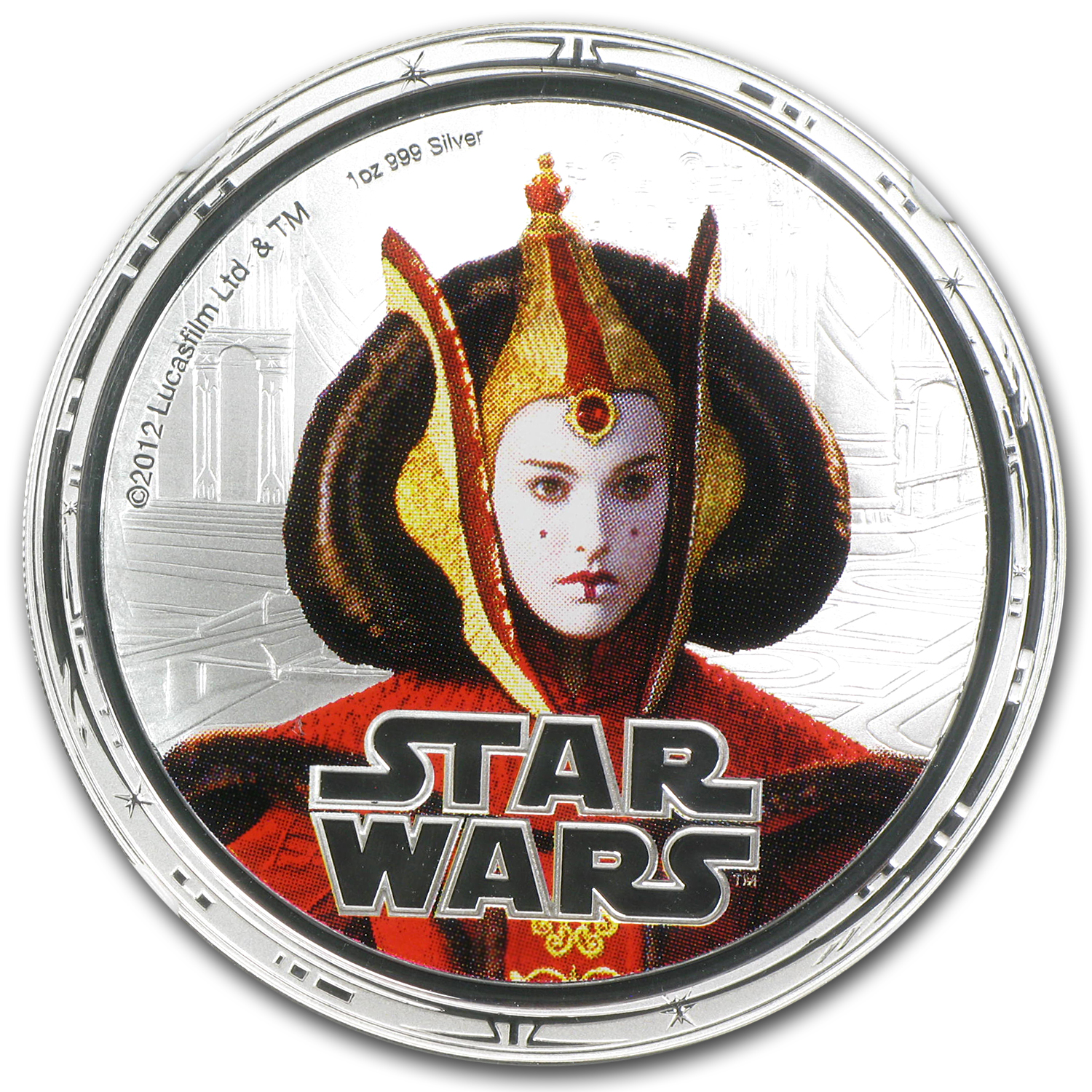 2012 Niue 1 oz Silver $2 Star Wars Queen Amidala PF-70 NGC