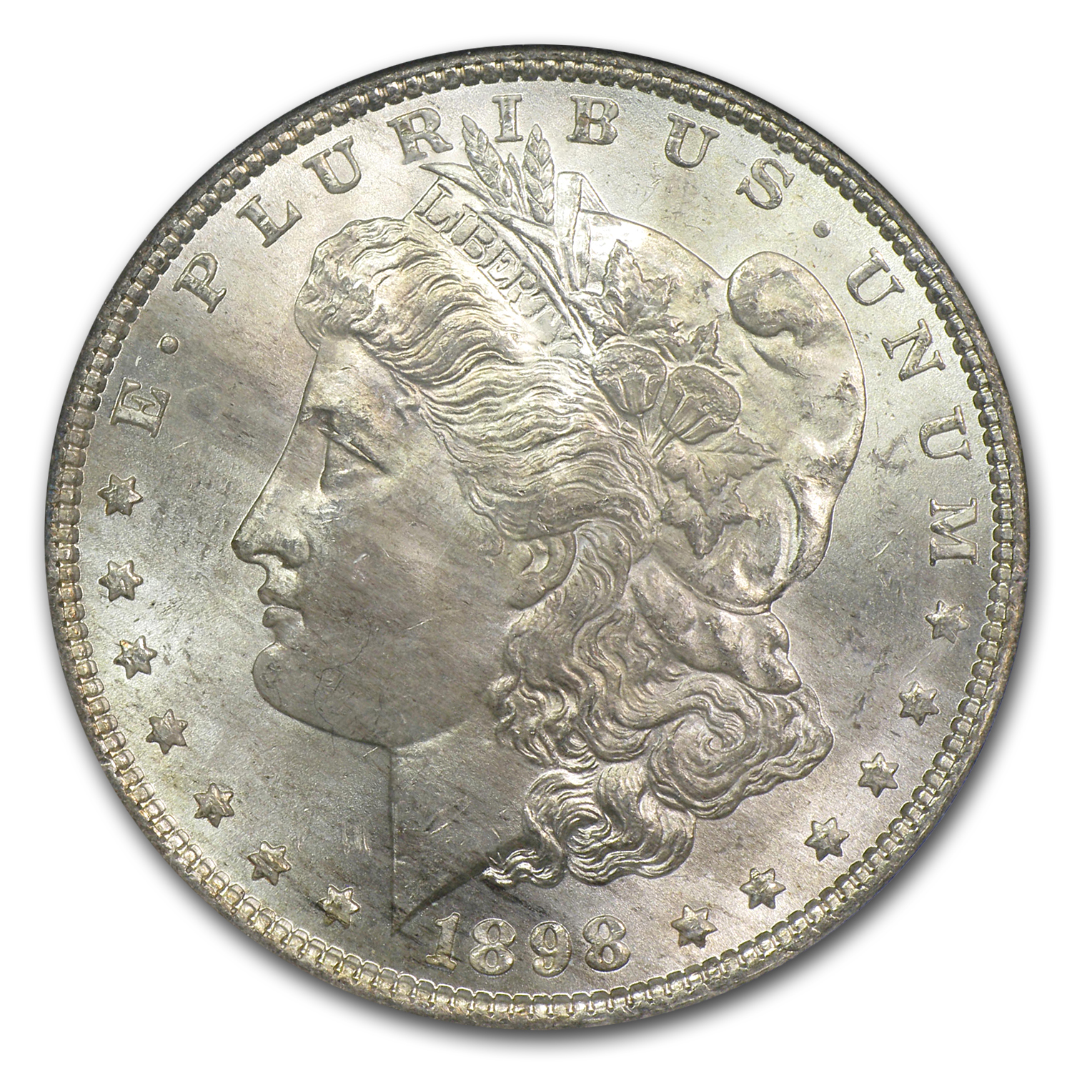 1898 Morgan Dollar MS-65 NGC (Fitzgerald Collection)