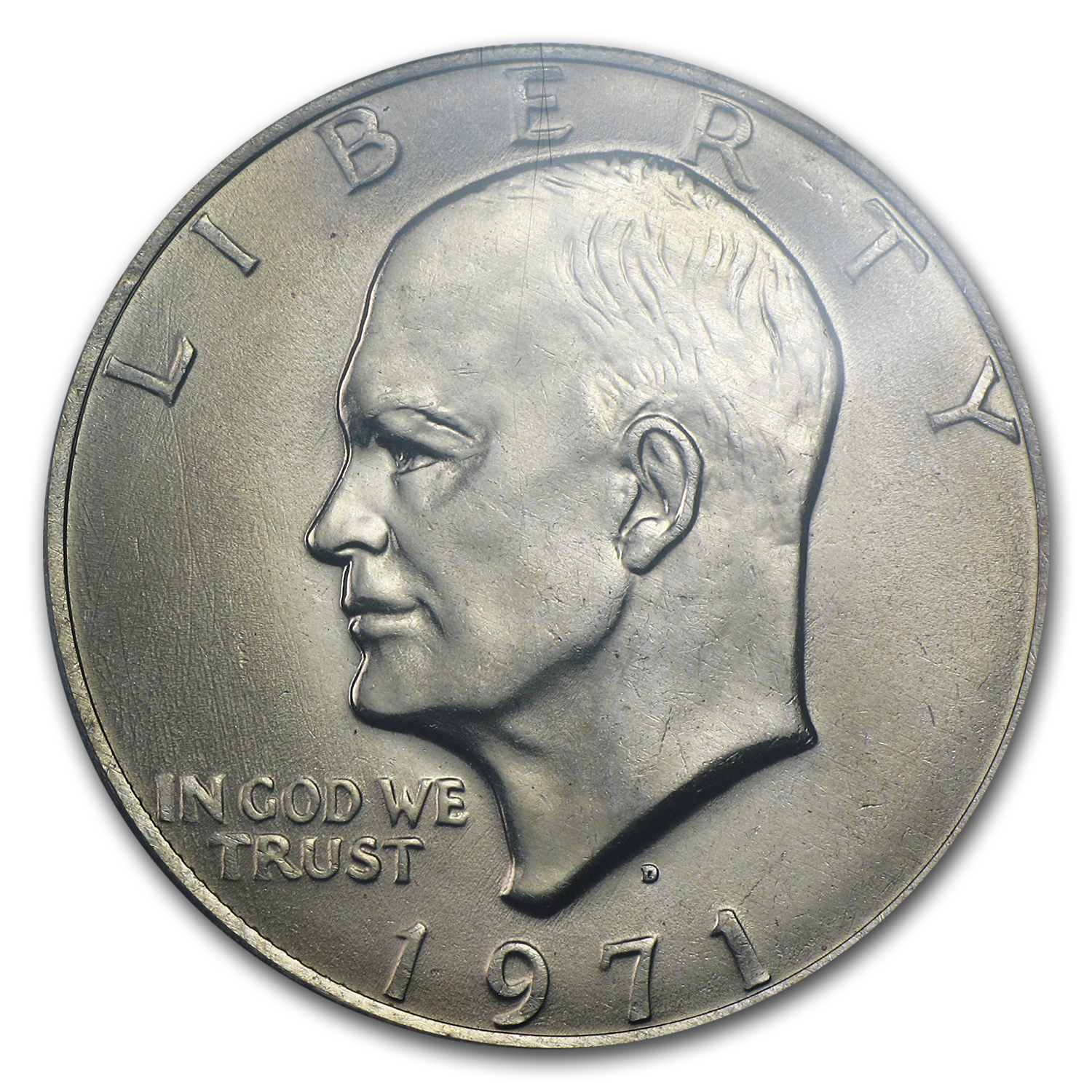 1971-D Clad Eisenhower Dollar MS-65 PCGS