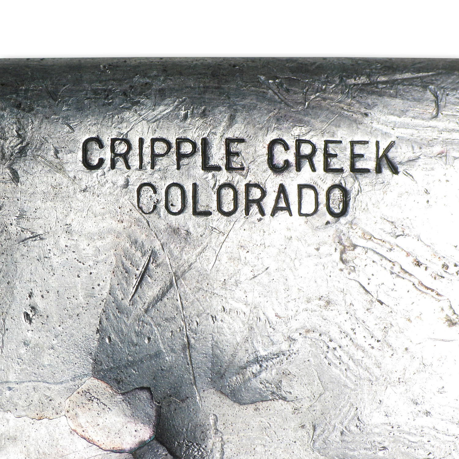 10 oz Silver Bar - Cripple Creek Colorado