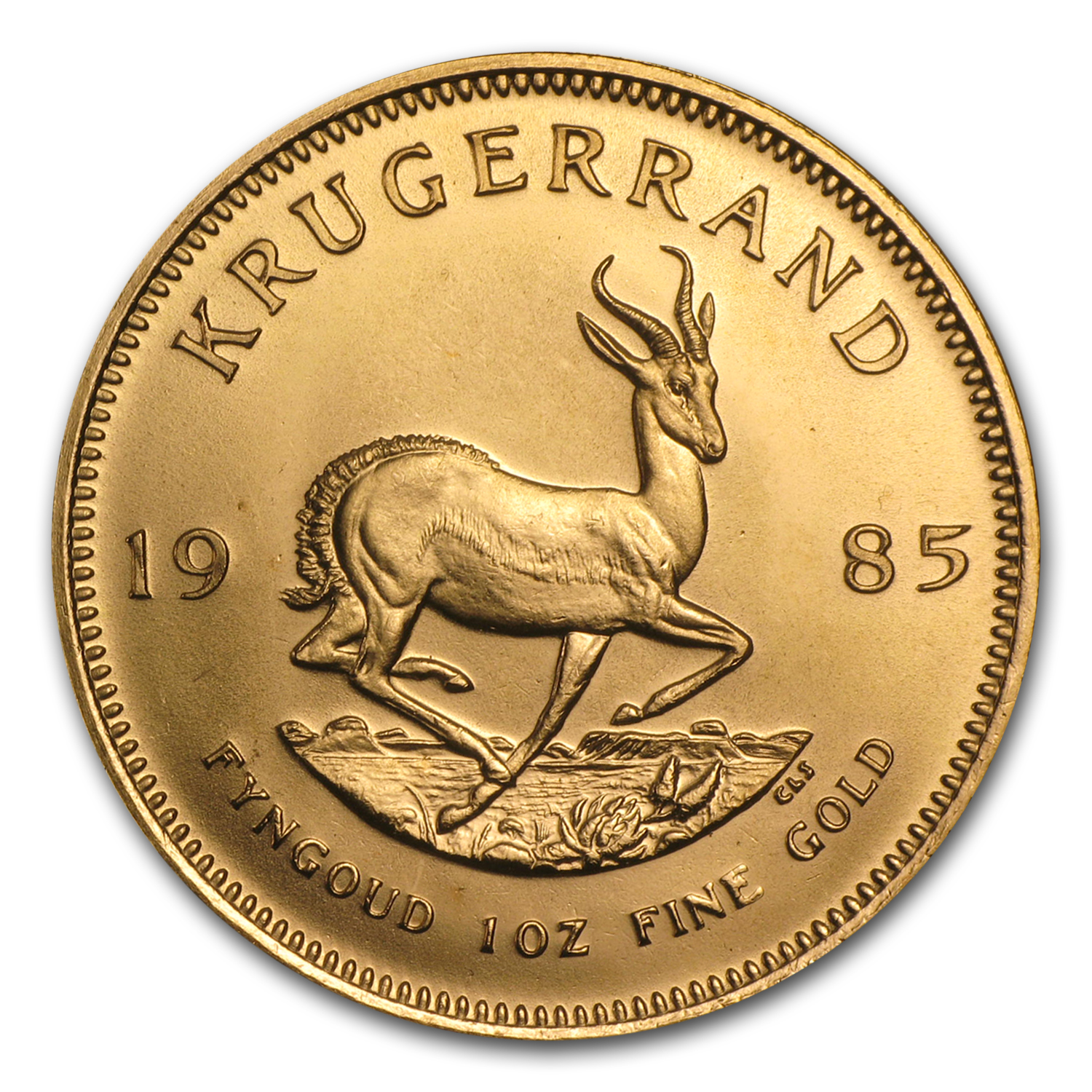 1985 1 oz Gold South African Krugerrand