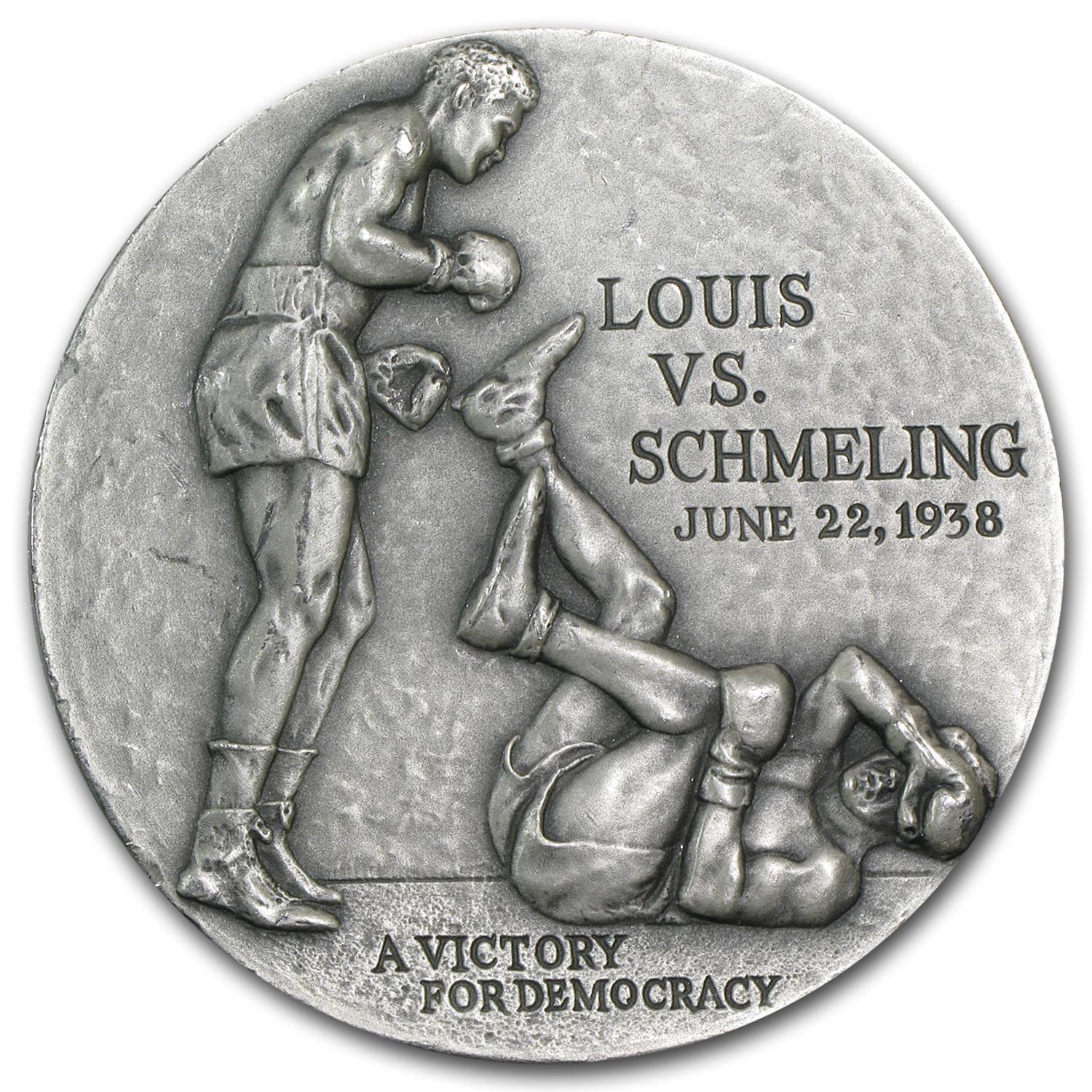 4.98 oz Silver Rounds - Joe Louis
