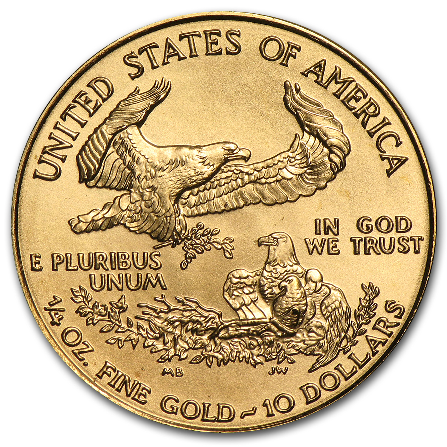 1999 1/4 oz Gold American Eagle BU