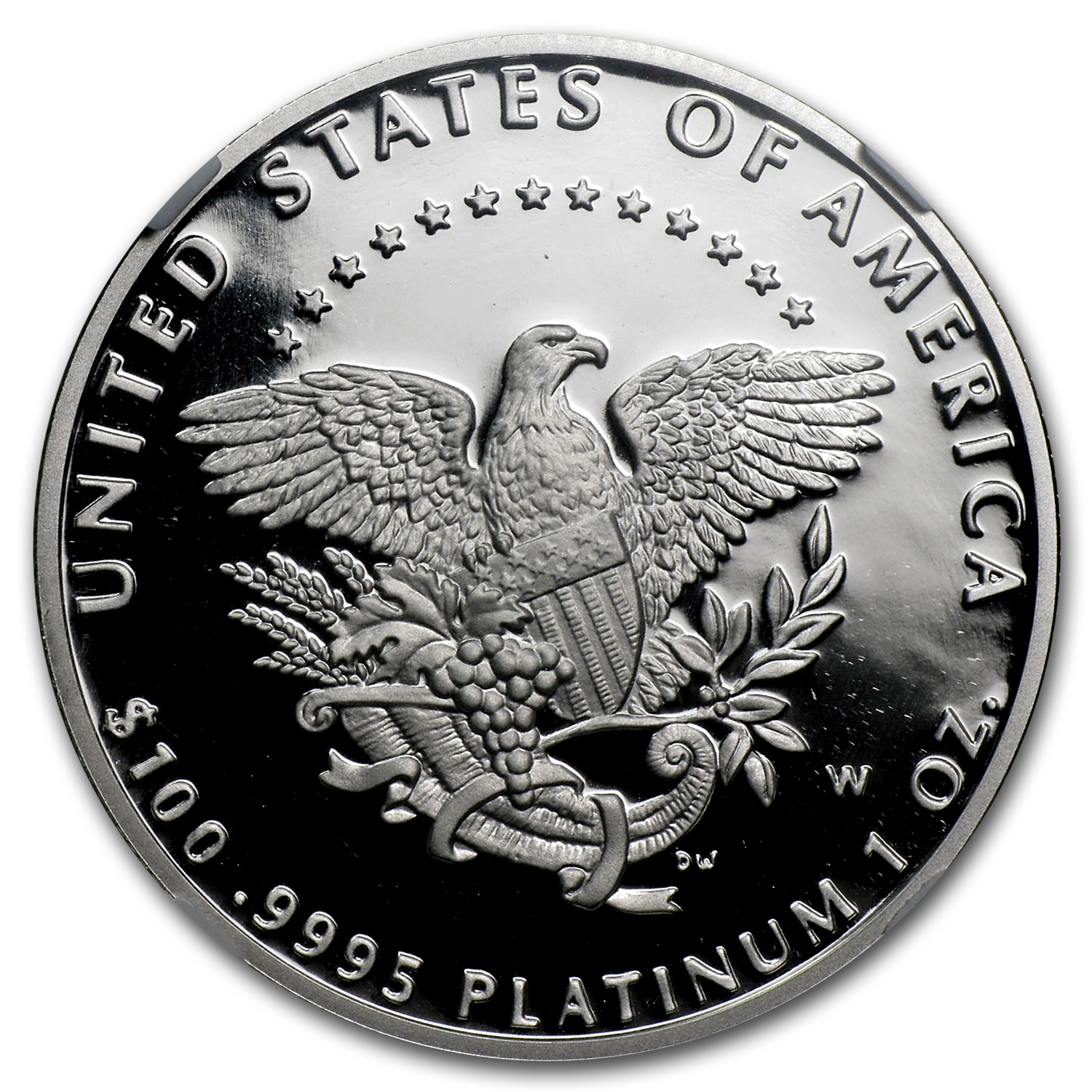 2005-W 1 oz Proof Platinum American Eagle PF-70 NGC