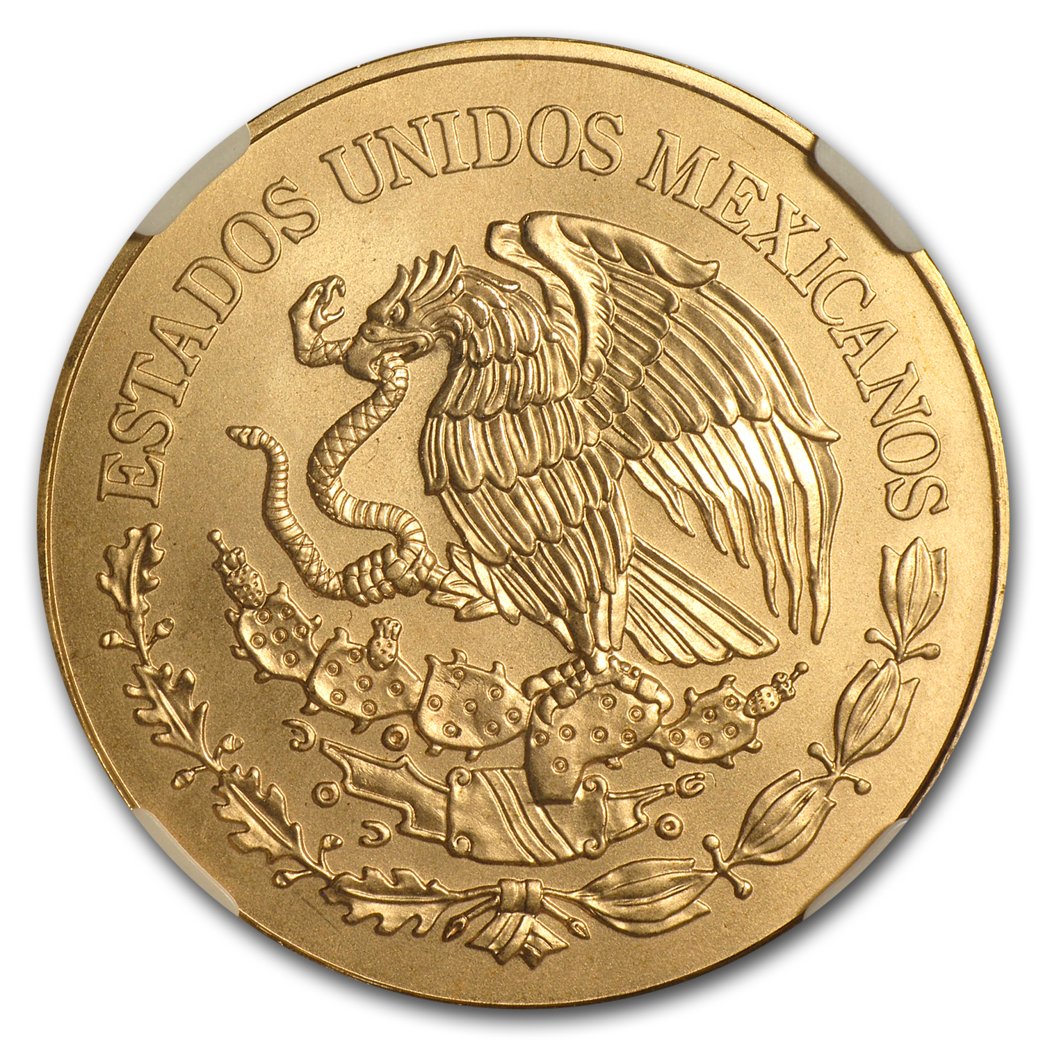 2010 Gold 200 Pesos Mexican Bicentenary Commemorative MS-70 NGC