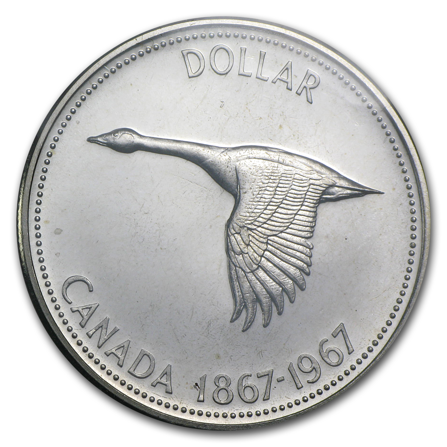 1967 6-Coin Canadian Prooflike Silver Coin Set (1.11 ASW)
