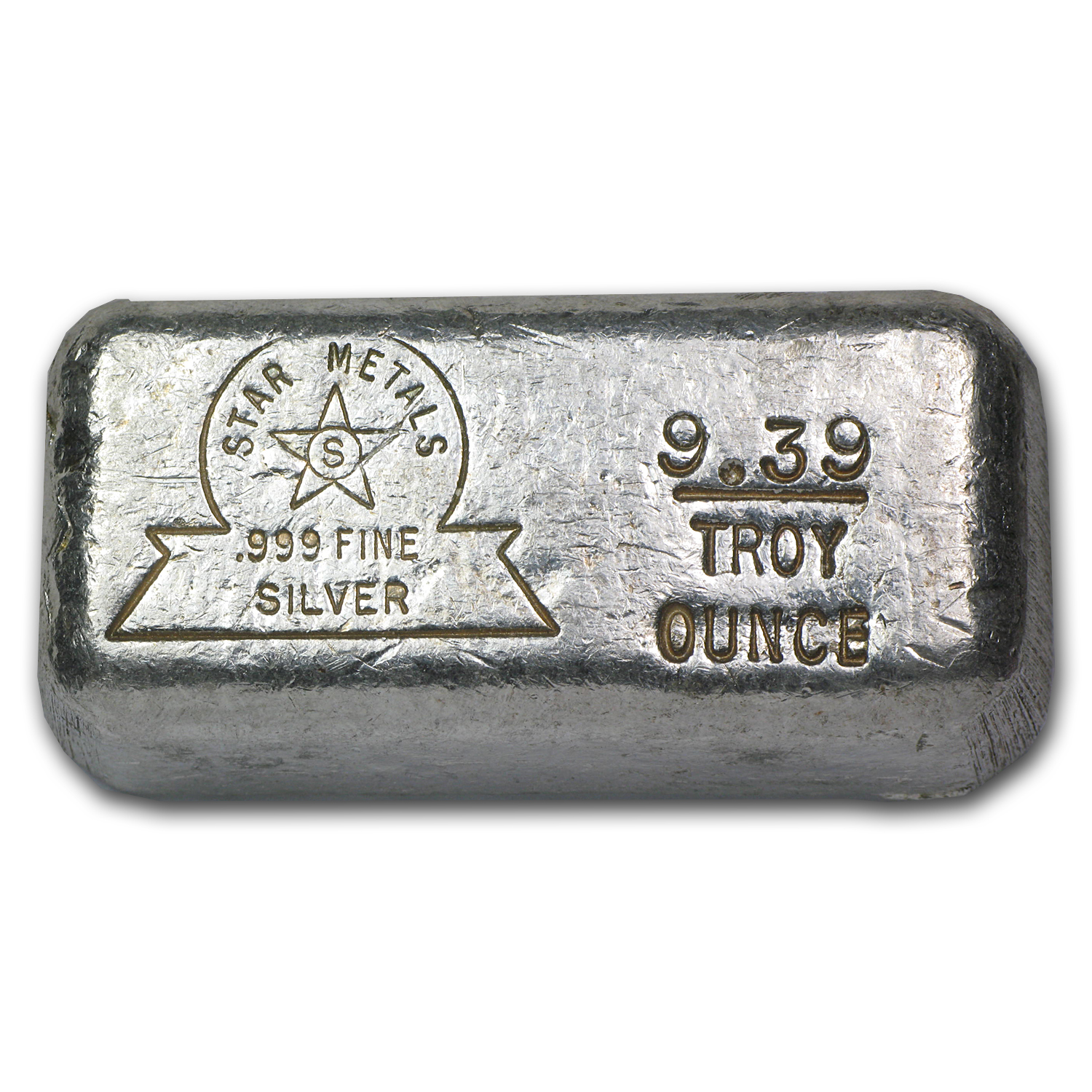 9.39 oz Silver Bar - Star Metals