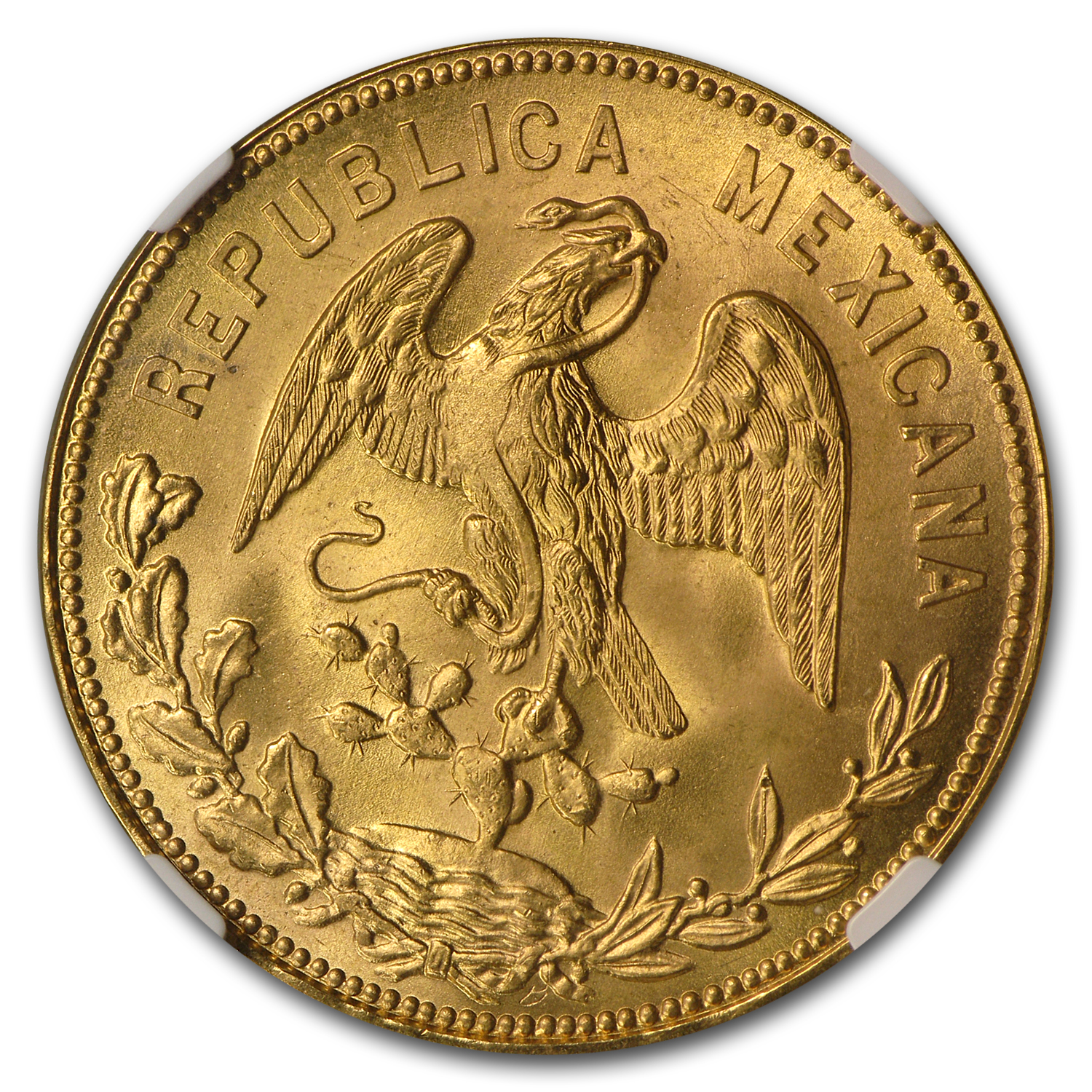 Mexico 1953 Year of Hidalgo Gold Medal - MS-66 NGC