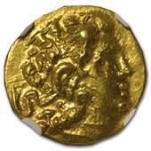 Kingdom of Pontus AV Stater Gold Mithradates VI AU NGC