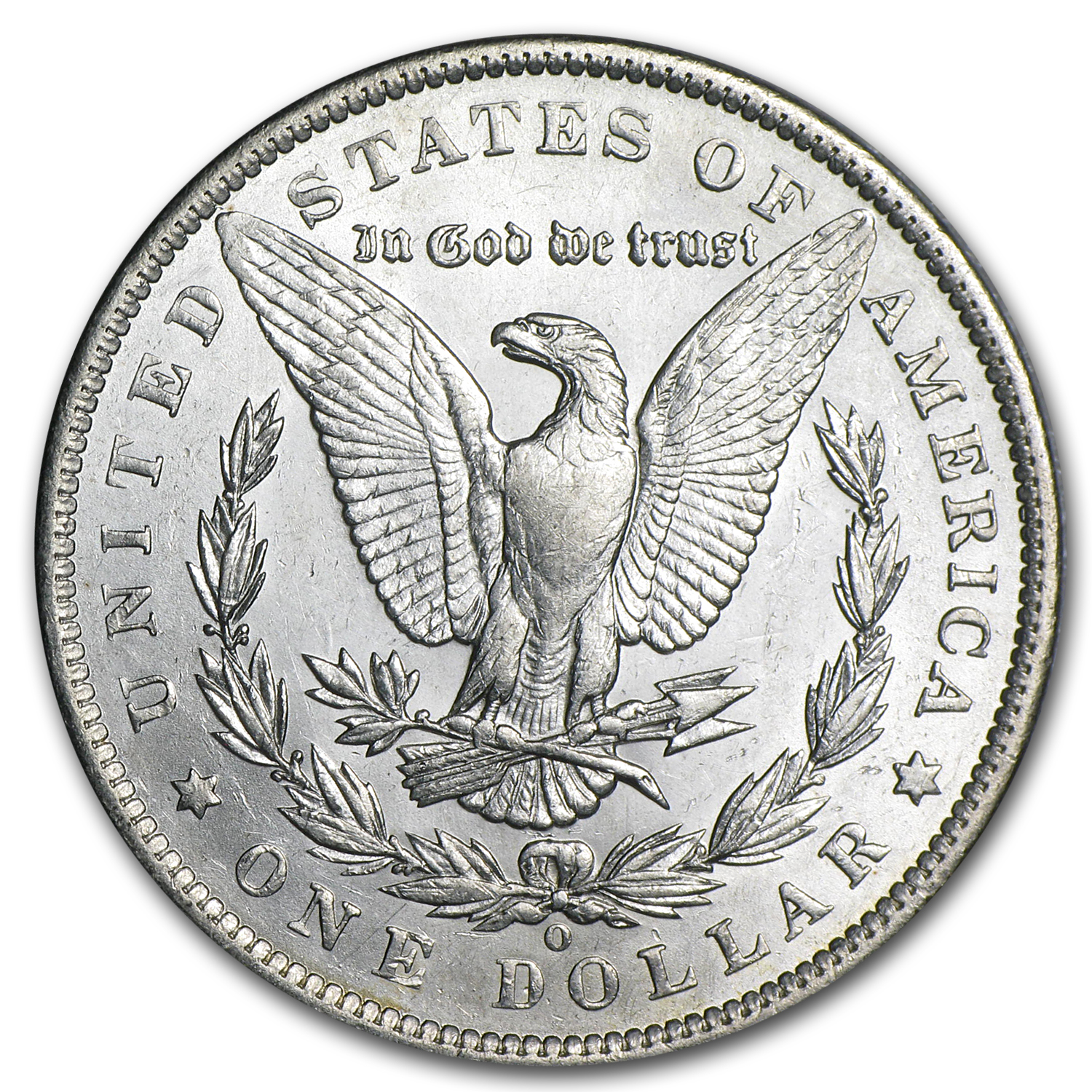 1889-O Morgan Dollar AU-58