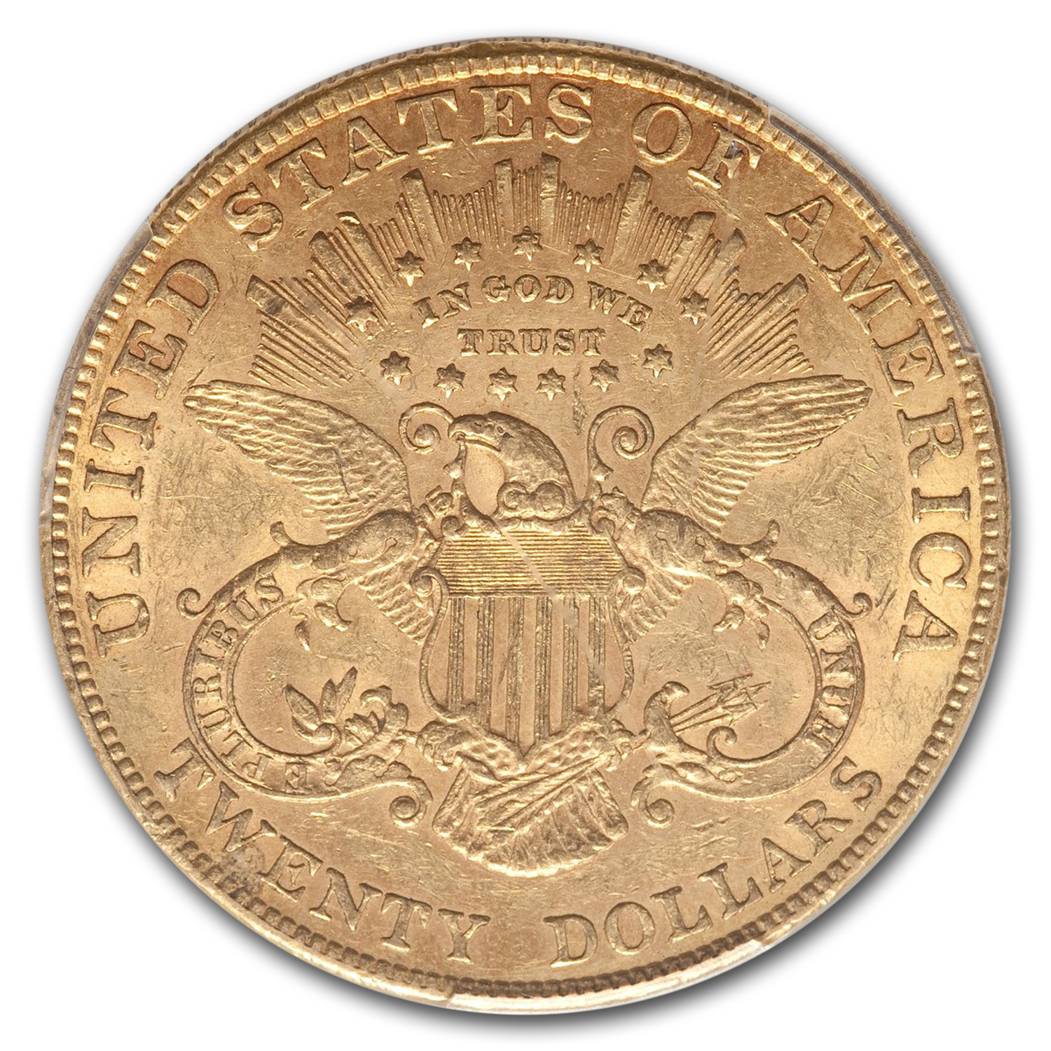 1905 $20 Liberty Gold Double Eagle AU-55 PCGS