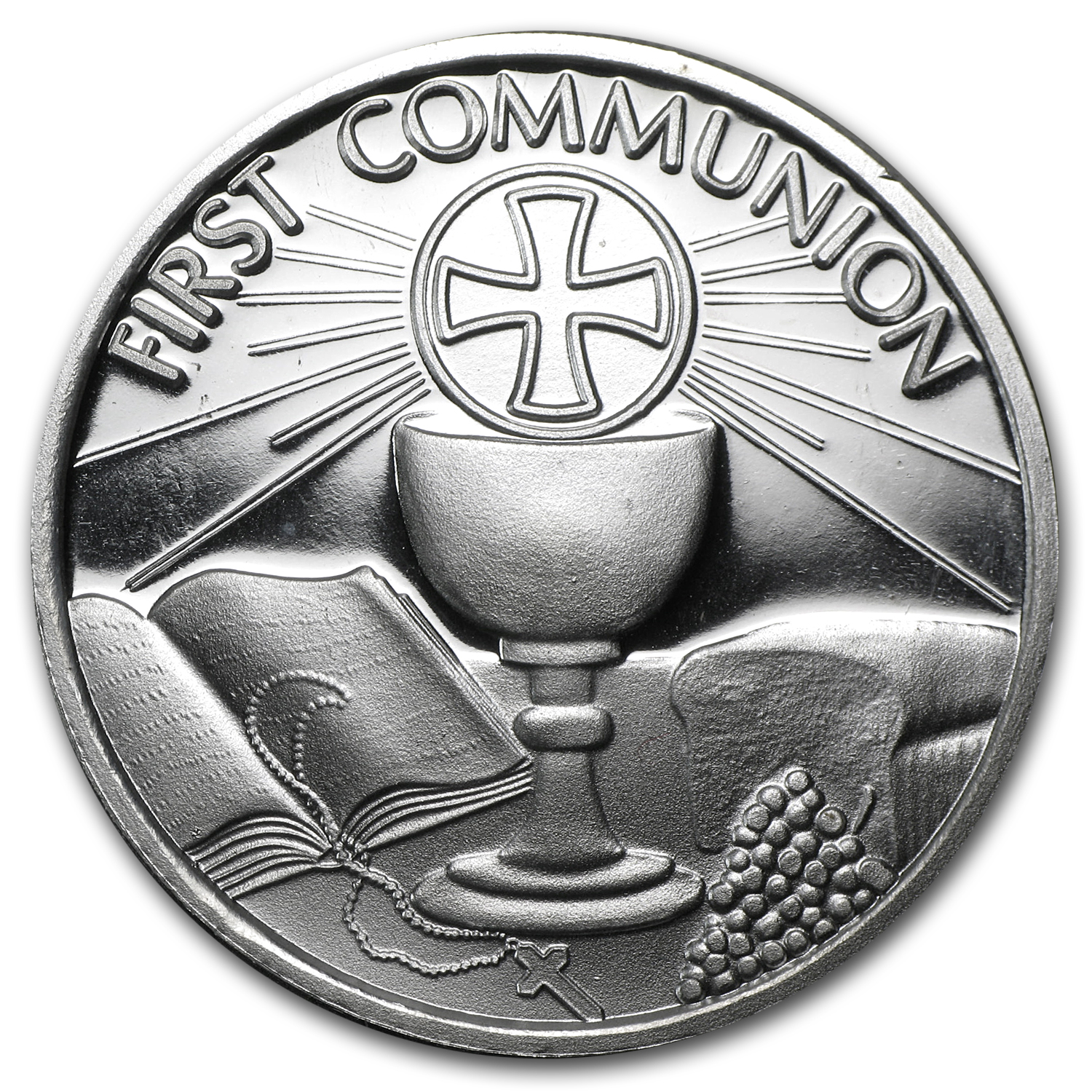 2013 1 oz Communion Silver Round (w/Gift Box & Capsule)