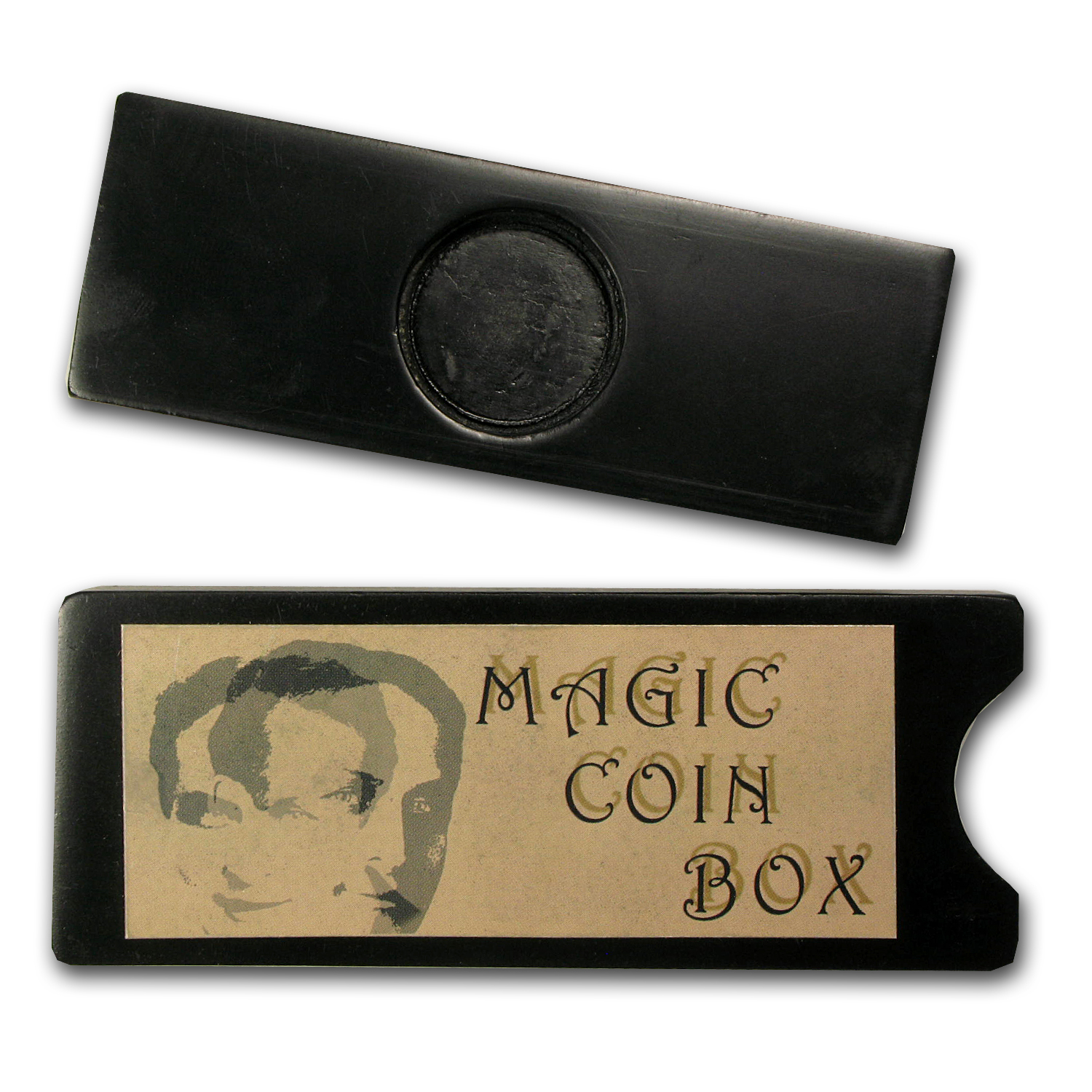 2011 Palau Copper-Nickel $1 Houdini Coin (w/Magic Coin Box)