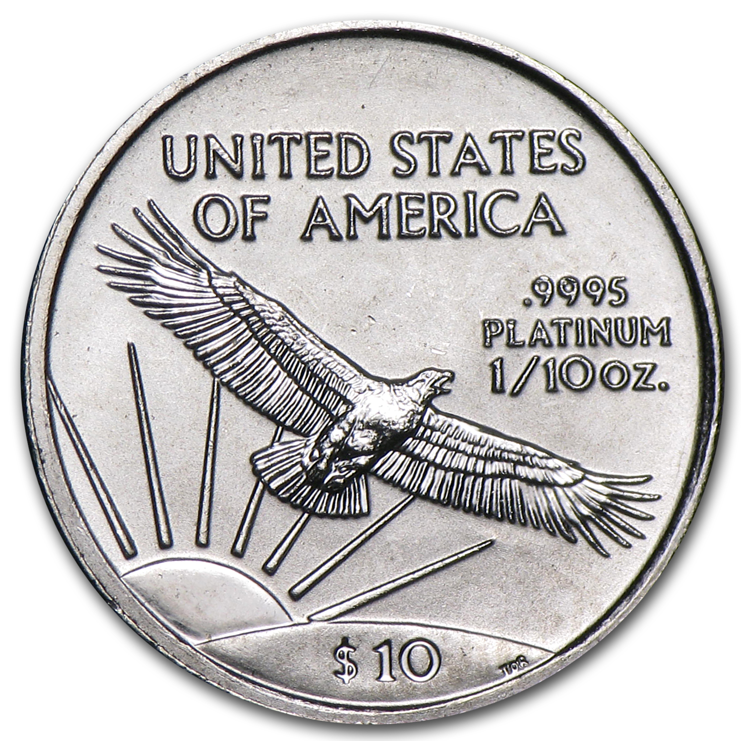 1997 1/10 oz Platinum American Eagle - Brilliant Uncirculated