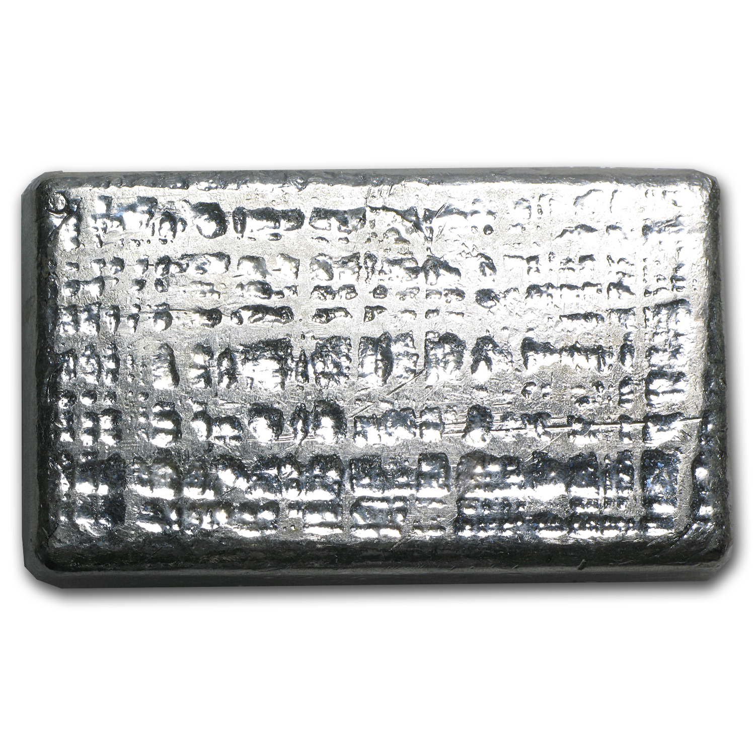 10 oz Silver Bar - Engelhard (Wide/Poured)