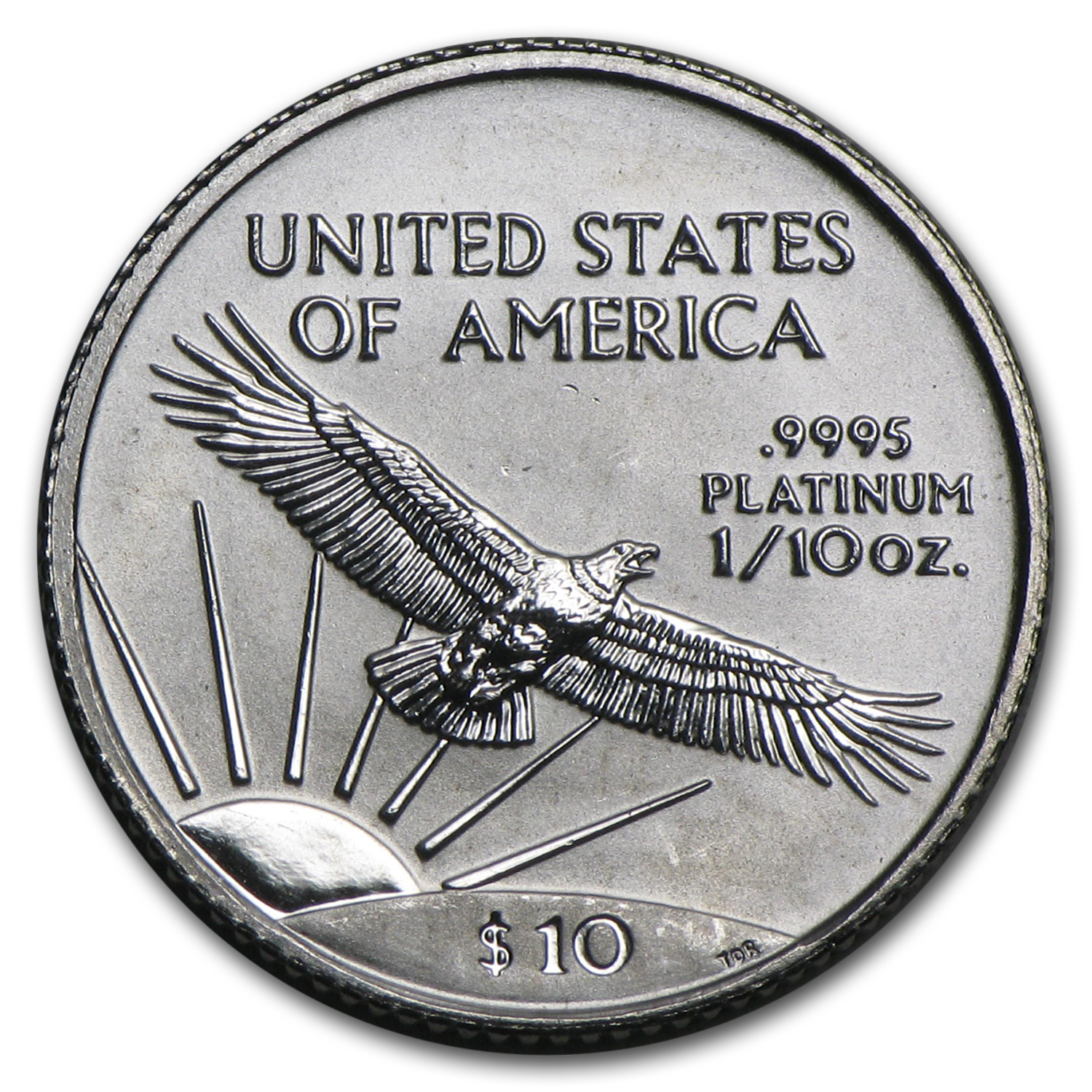 1999 1/10 oz Platinum American Eagle - Brilliant Uncirculated