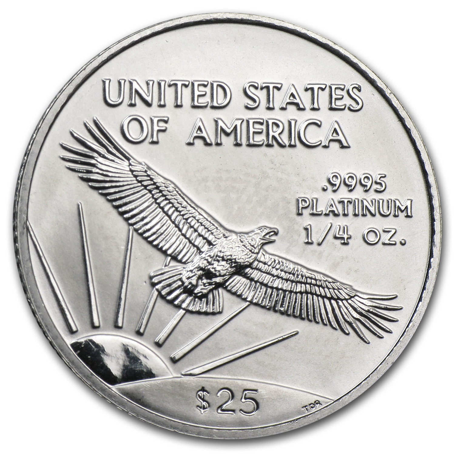2000 1/4 oz Platinum American Eagle - Brilliant Uncirculated