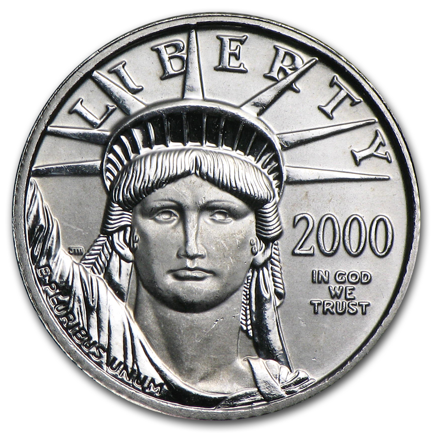 2000 1/10 oz Platinum American Eagle BU