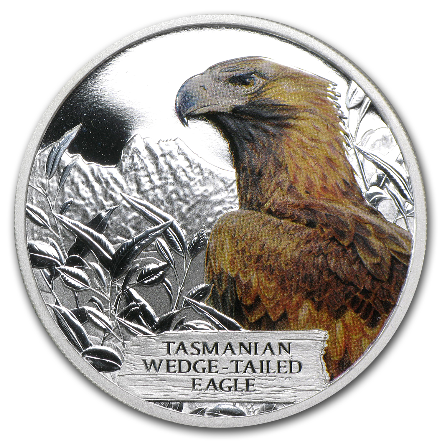 2012 Tuvalu 1 oz Silver Wedge-Tailed Eagle Proof (Spotted)