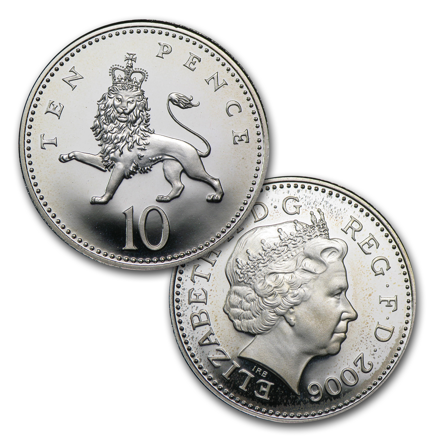 2006 UK 13-Coin Silver Queen Elizabeth II 80th B'day Prf Set
