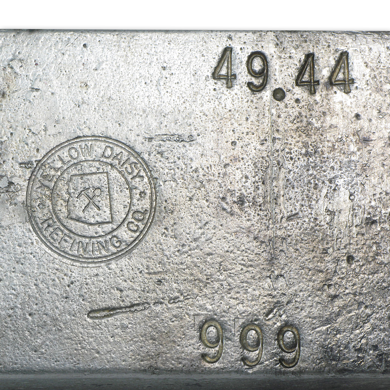 49.44 oz Silver Bar - Yellow Daisy Refining Co.