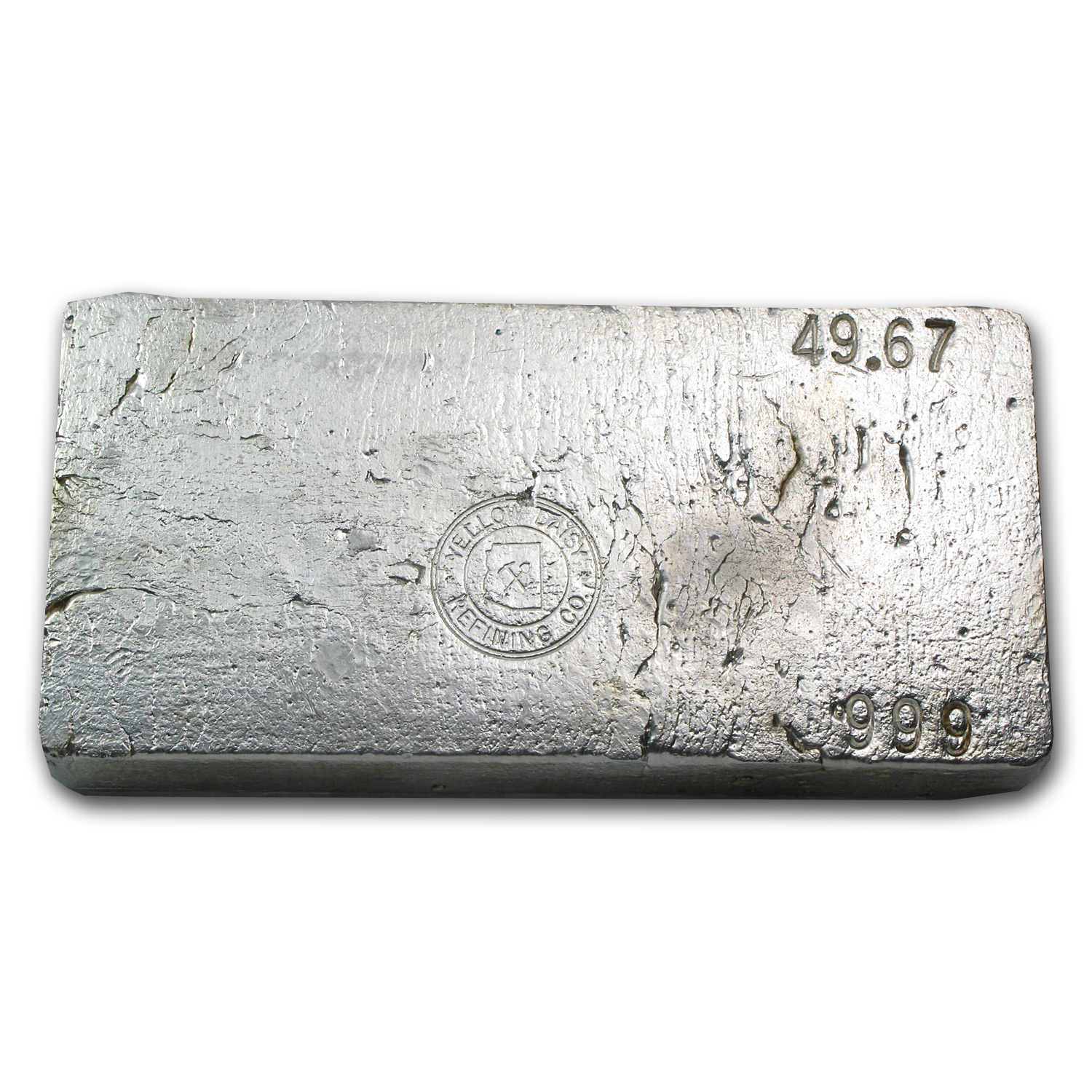 49.67 oz Silver Bars - Yellow Daisy Refining Co.