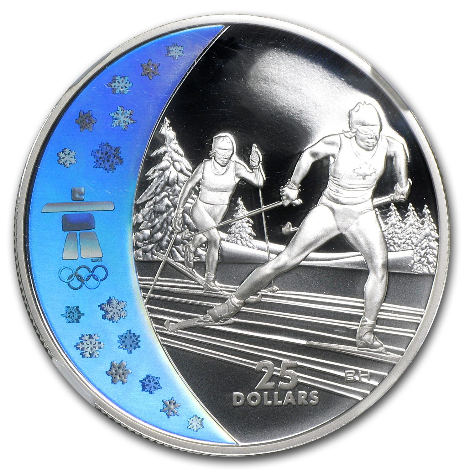 2009 Canadian $25 Olympic Cross Country Skiing PF-69 UCAM NGC