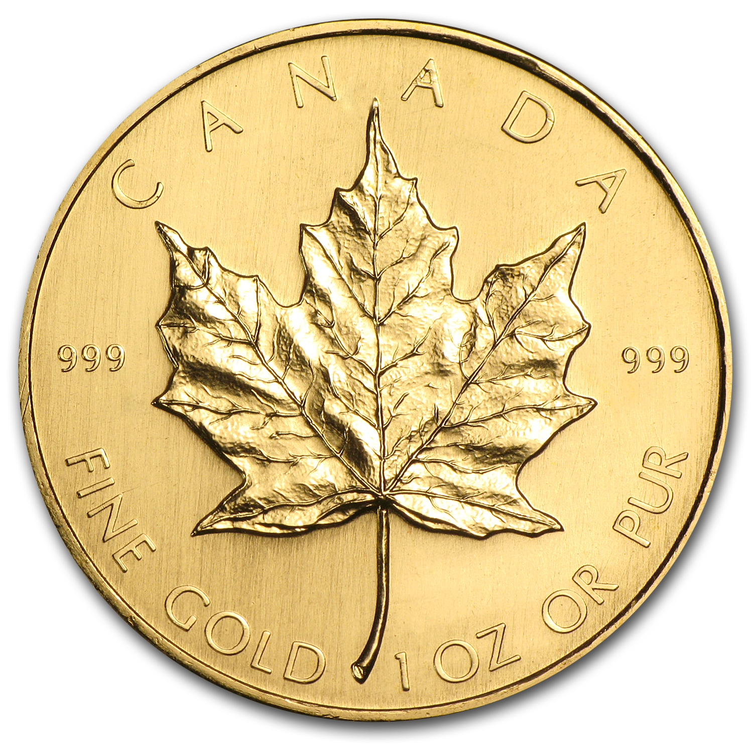 1981 Canada 1 oz Gold Maple Leaf BU