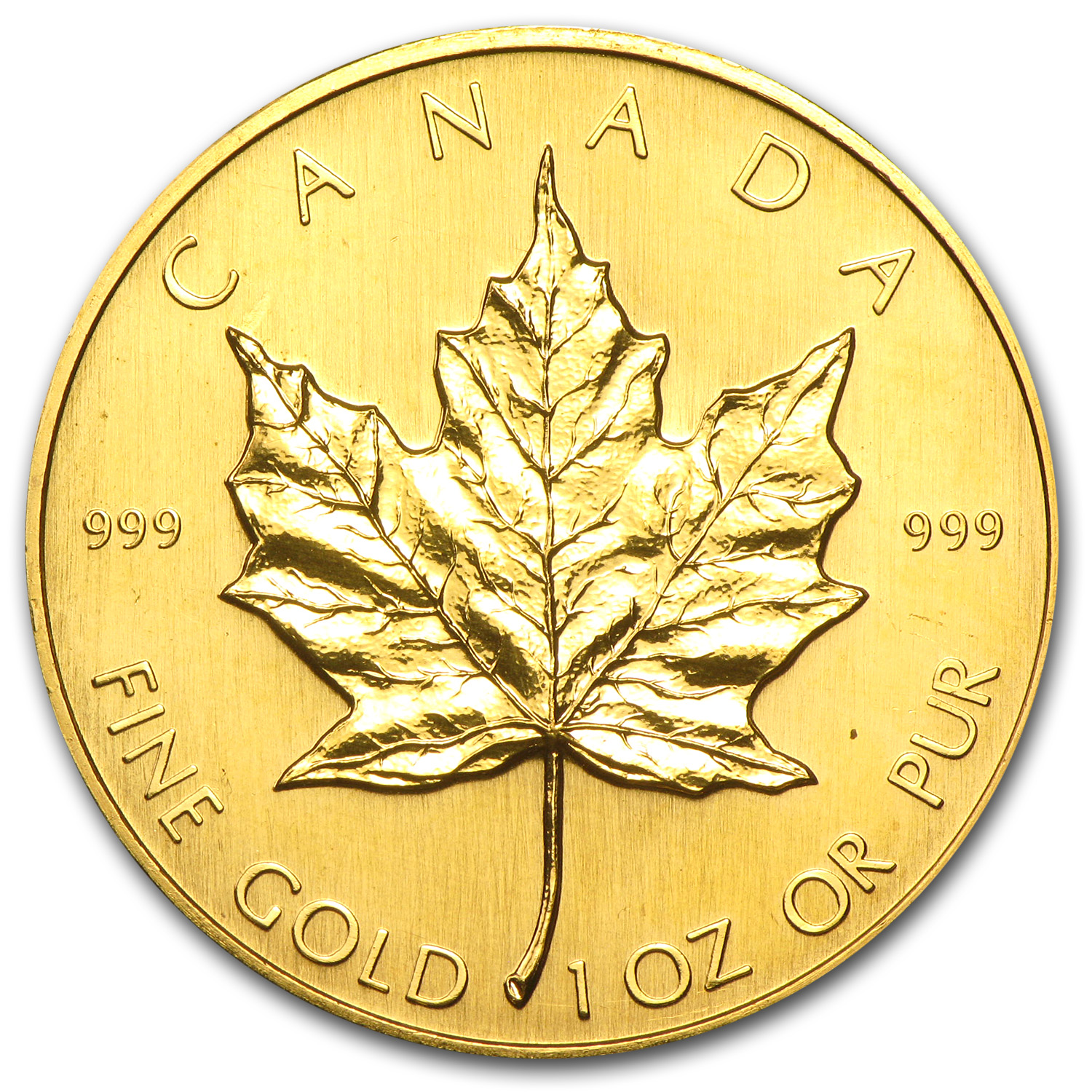 1982 Canada 1 oz Gold Maple Leaf BU