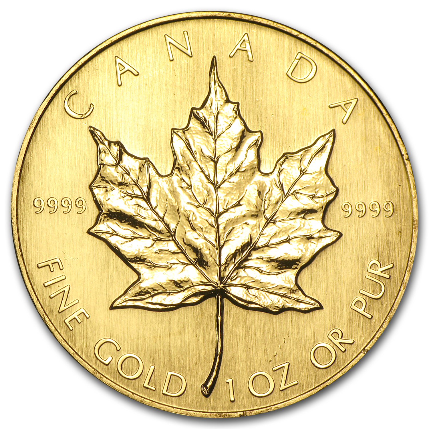 1984 Canada 1 oz Gold Maple Leaf BU