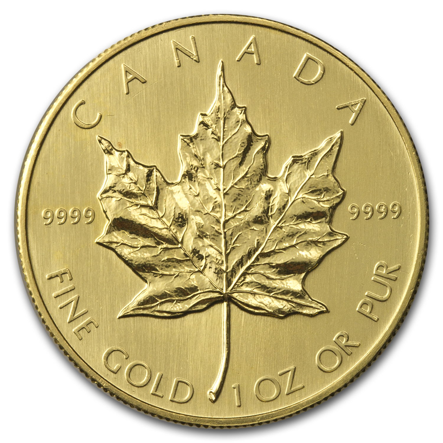 1985 Canada 1 oz Gold Maple Leaf BU
