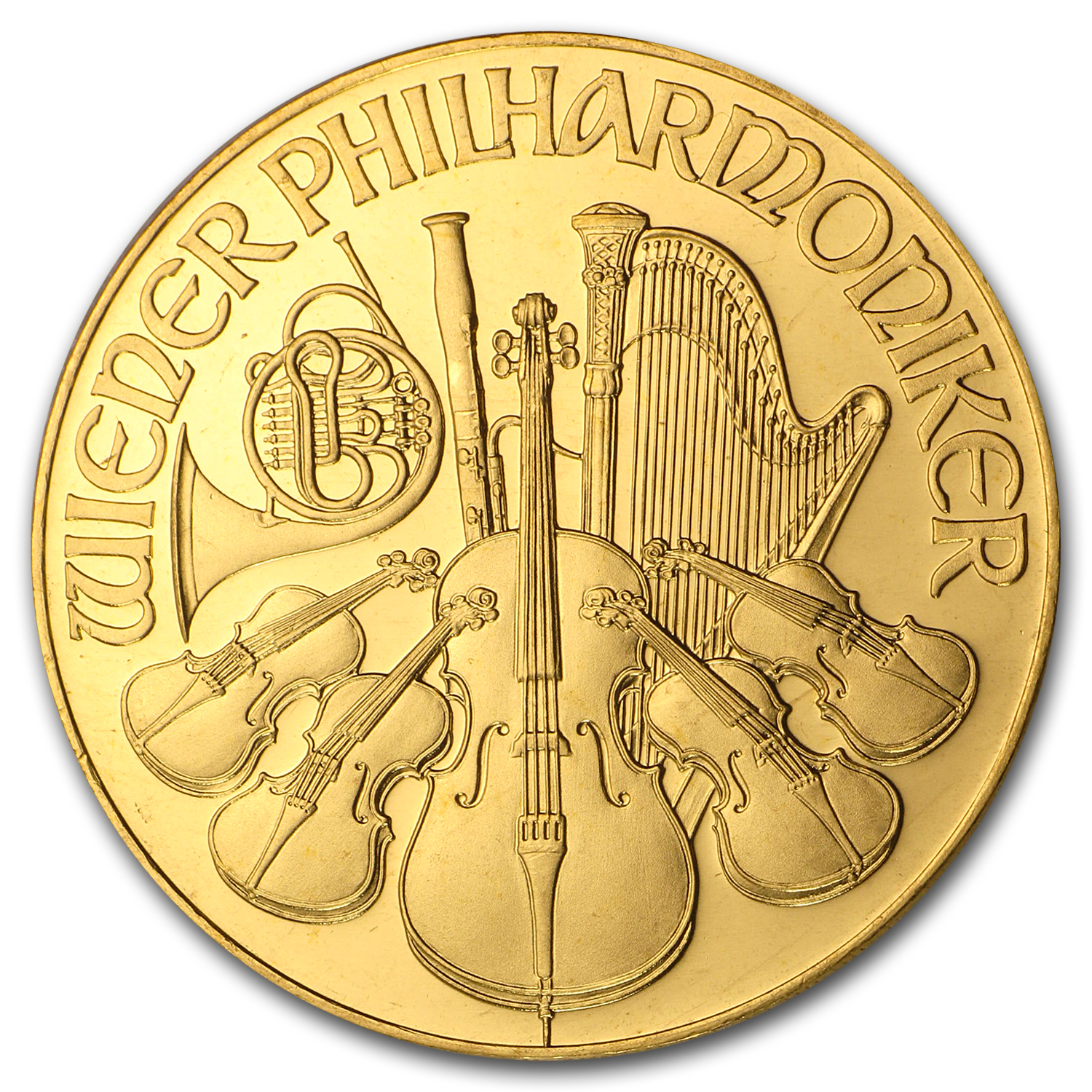 1990 1 oz Gold Austrian Philharmonic