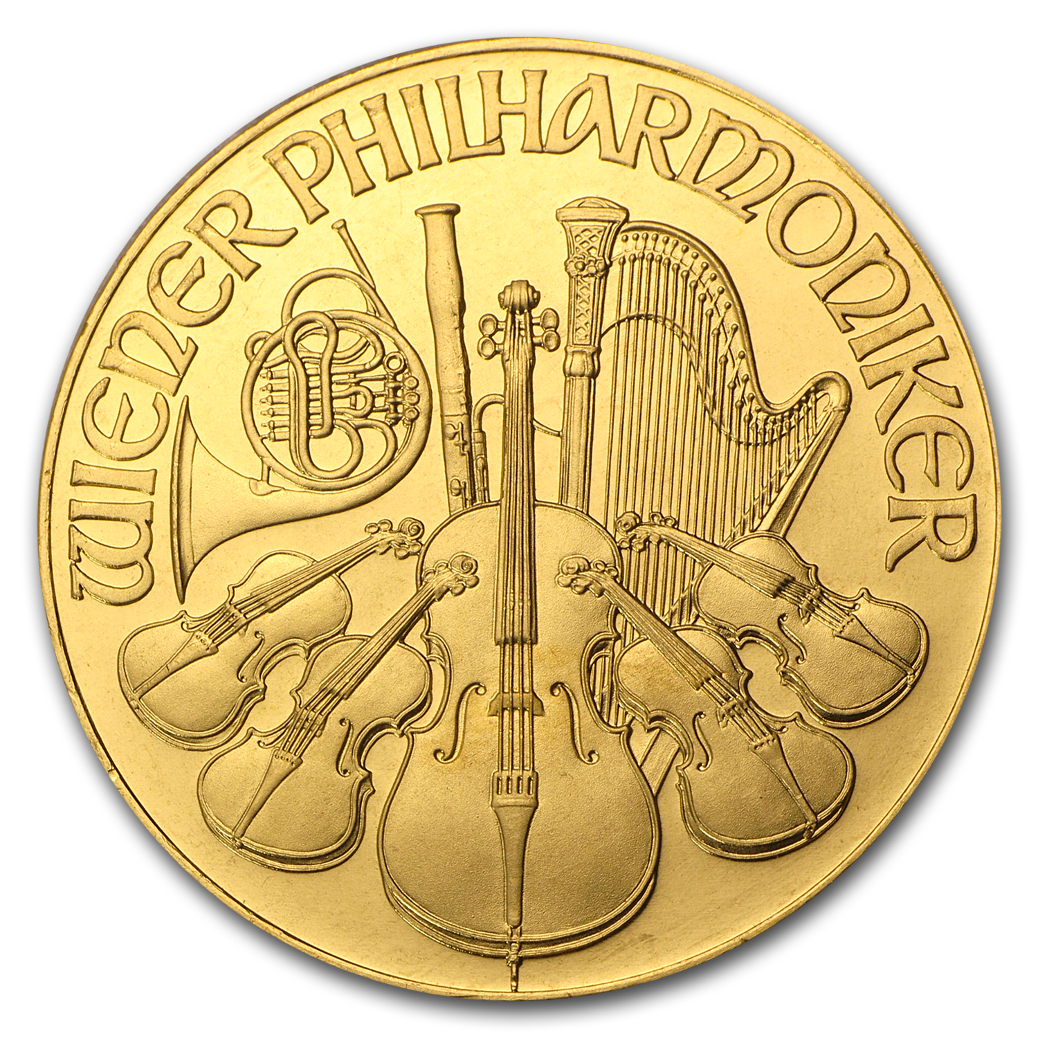 1991 1 oz Gold Austrian Philharmonic