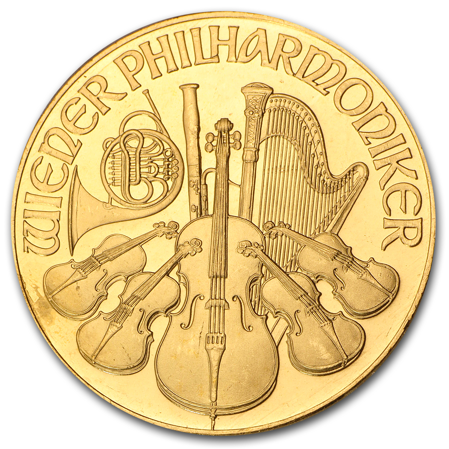 1992 1 oz Gold Austrian Philharmonic