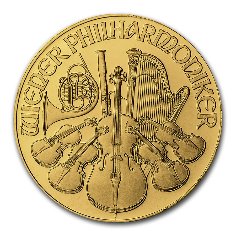 1994 1 oz Gold Austrian Philharmonic