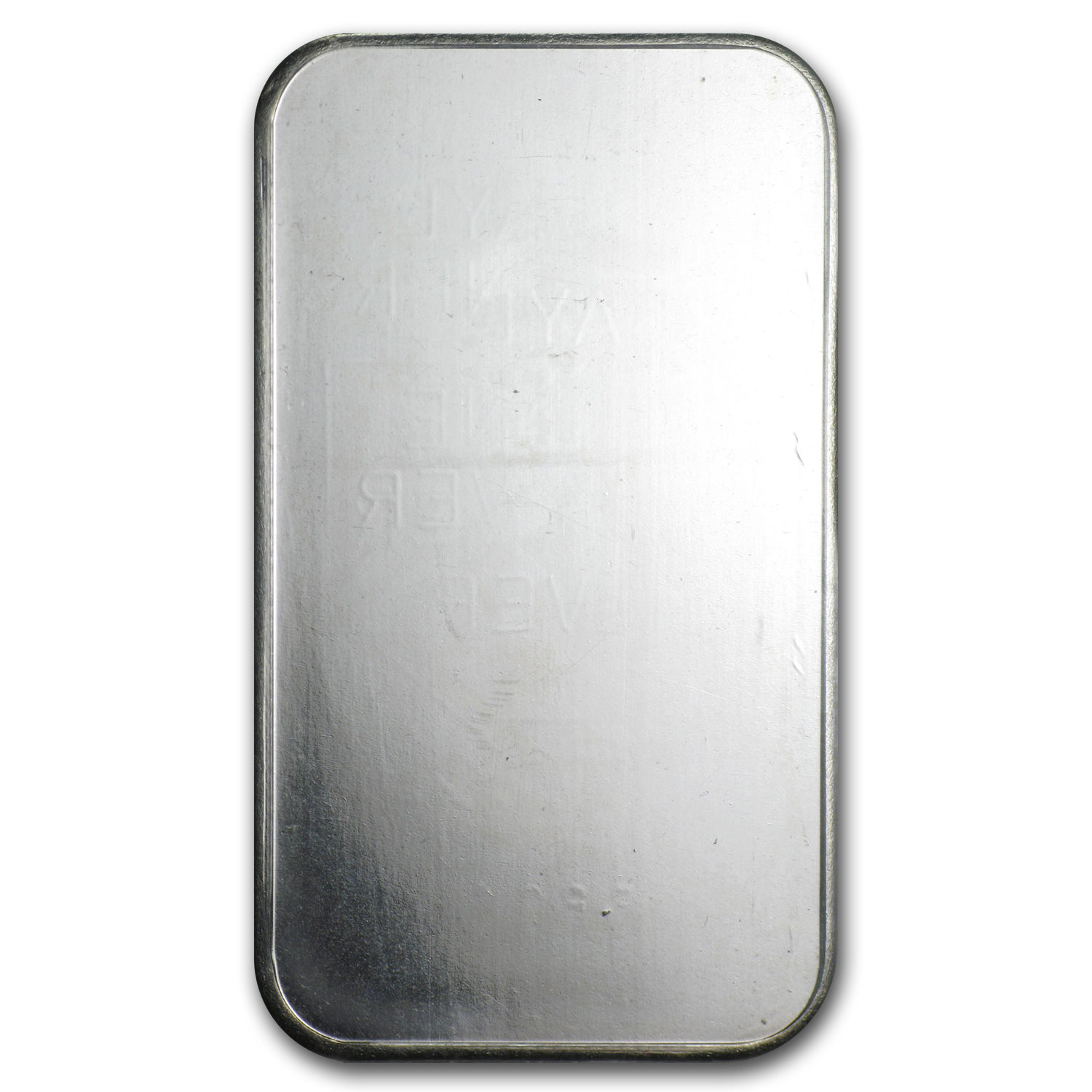 1 oz Silver Bar - Johnson Matthey (Sealed/Plain Back)