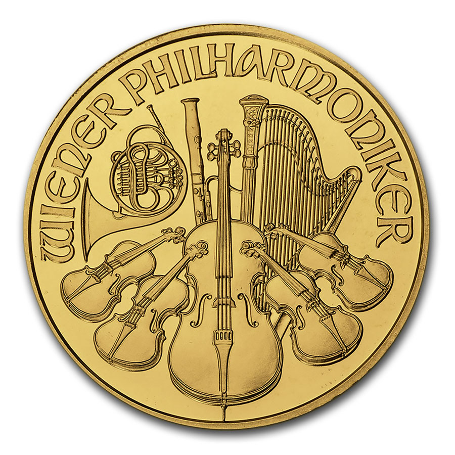 2004 1 oz Gold Austrian Philharmonic