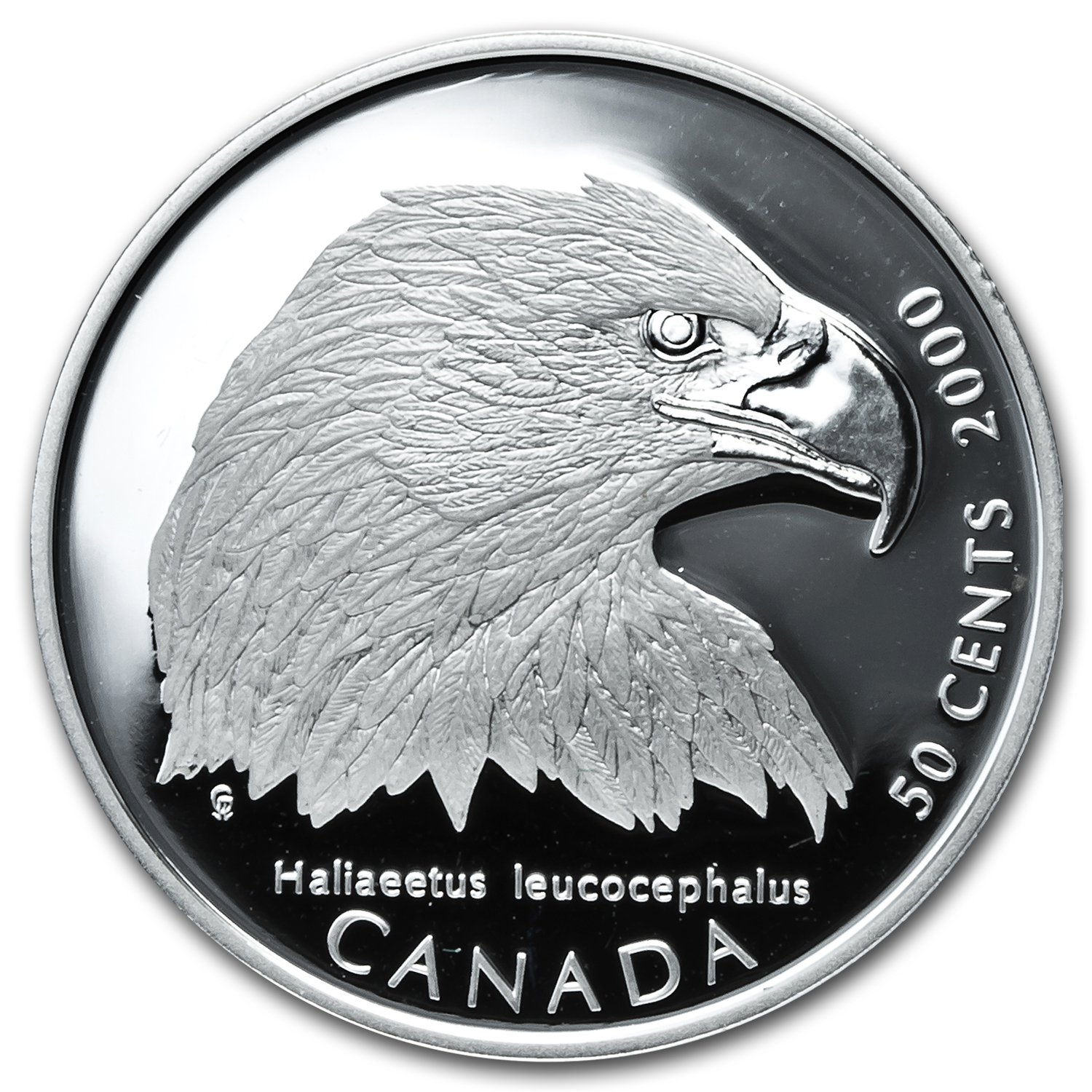 2000 Canada 4-Coin Silver Birds of Prey Half Dollar Proof Set