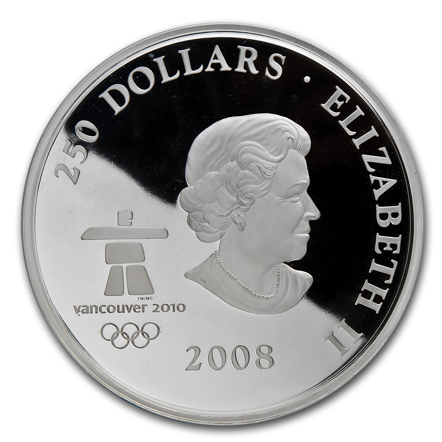 2008 1 Kilo Silver Canadian $250 Towards Confederation